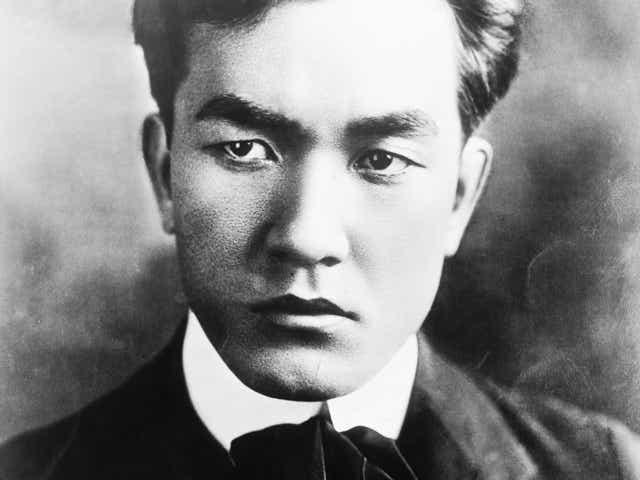 Actor Sessue Hayakawa, 1910.