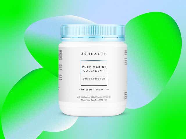 A picture of JS Health's Marine Collagen Powder