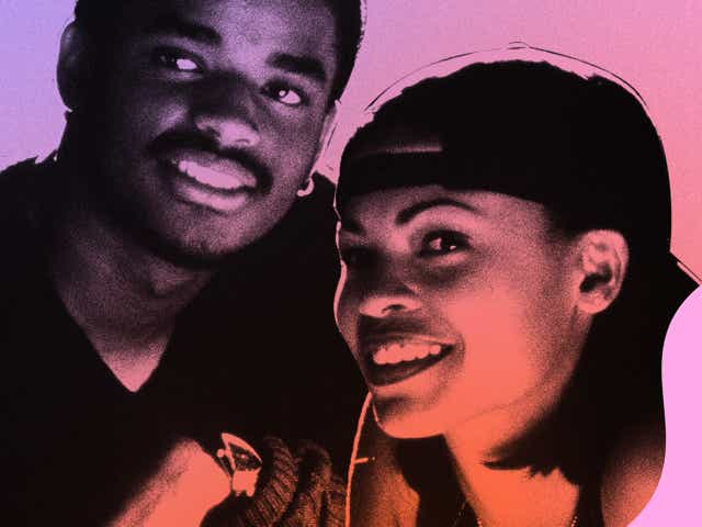 Photograph of Nina and Darius from Love Jones
