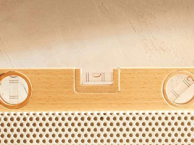 Zara Home wooden spirit level