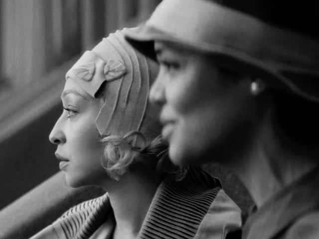 RUTH NEGGA as CLARE and TESSA THOMPSON as IRENE in PASSING