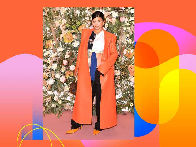 NEW YORK, NEW YORK - SEPTEMBER 09: Kylie Jenner attends the REVOLVE Gallery NYFW Presentation And Pop-up at Hudson Yards on September 09, 2021 in New York City. (Photo by Bryan Bedder/Getty Images for REVOLVE)