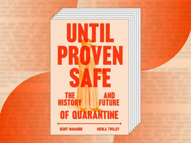 Book Cover of Until Proven Safe by Geoff Manaugh and Nicola Twilley.