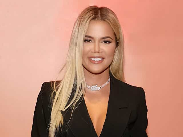 Khloé Kardashian attends the Good American Miami Launch Party at Good American.