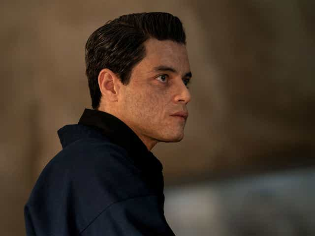 Rami Malek as Safin in the film No Time To Die