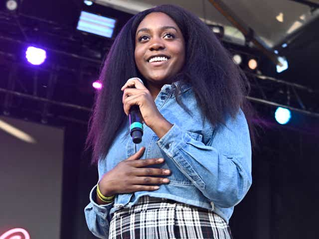 Singer/rapper Noname performs onstage during 2018 AfroPunk Festival Atlanta