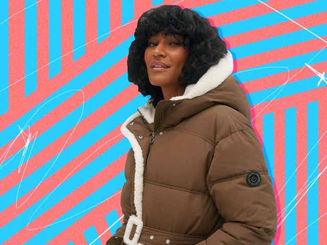 Canadian outwear brand Noize's Aberdeen jacket on model.