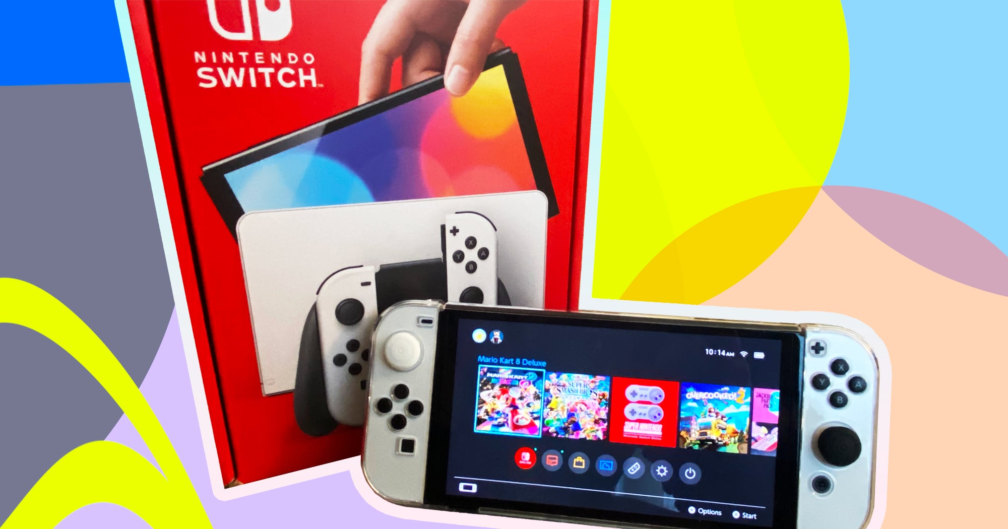 I Tried The New Nintendo Switch OLED & It Was Awesome
