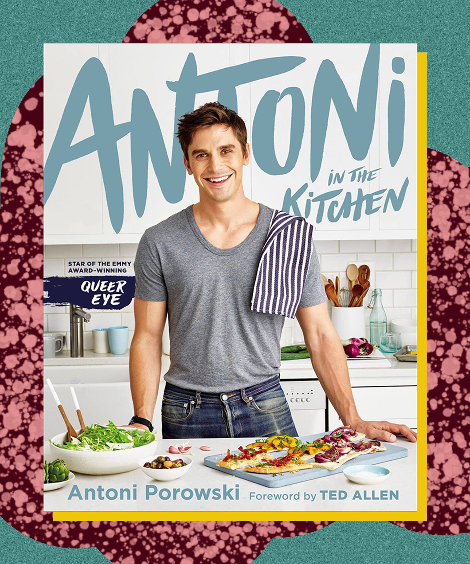 Queer Eye's Antoni Porowski Has A Cookbook Out Today — Here's A Sneak Peek