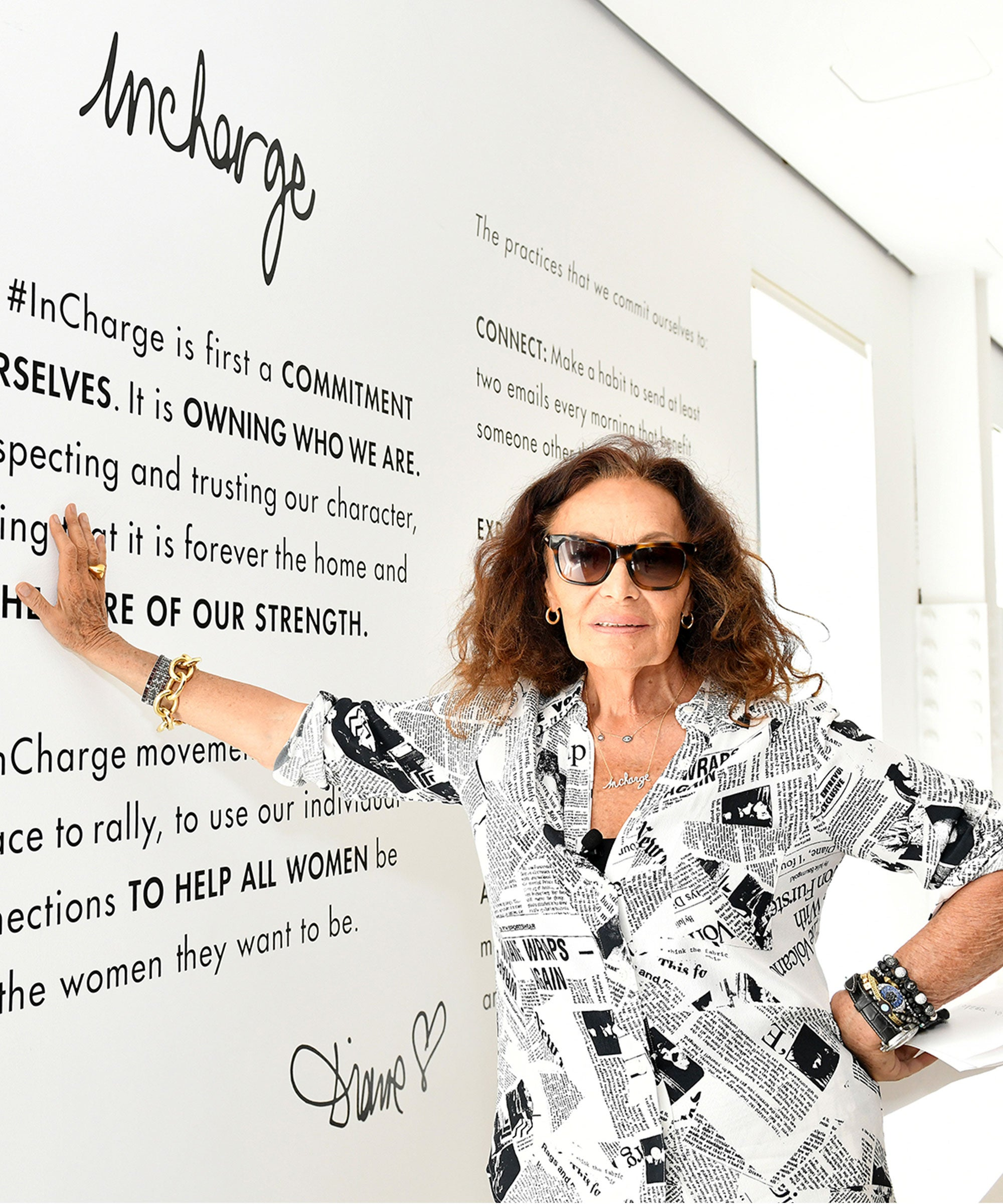 DVF Has A Genius Trick For Mastering Self Doubt