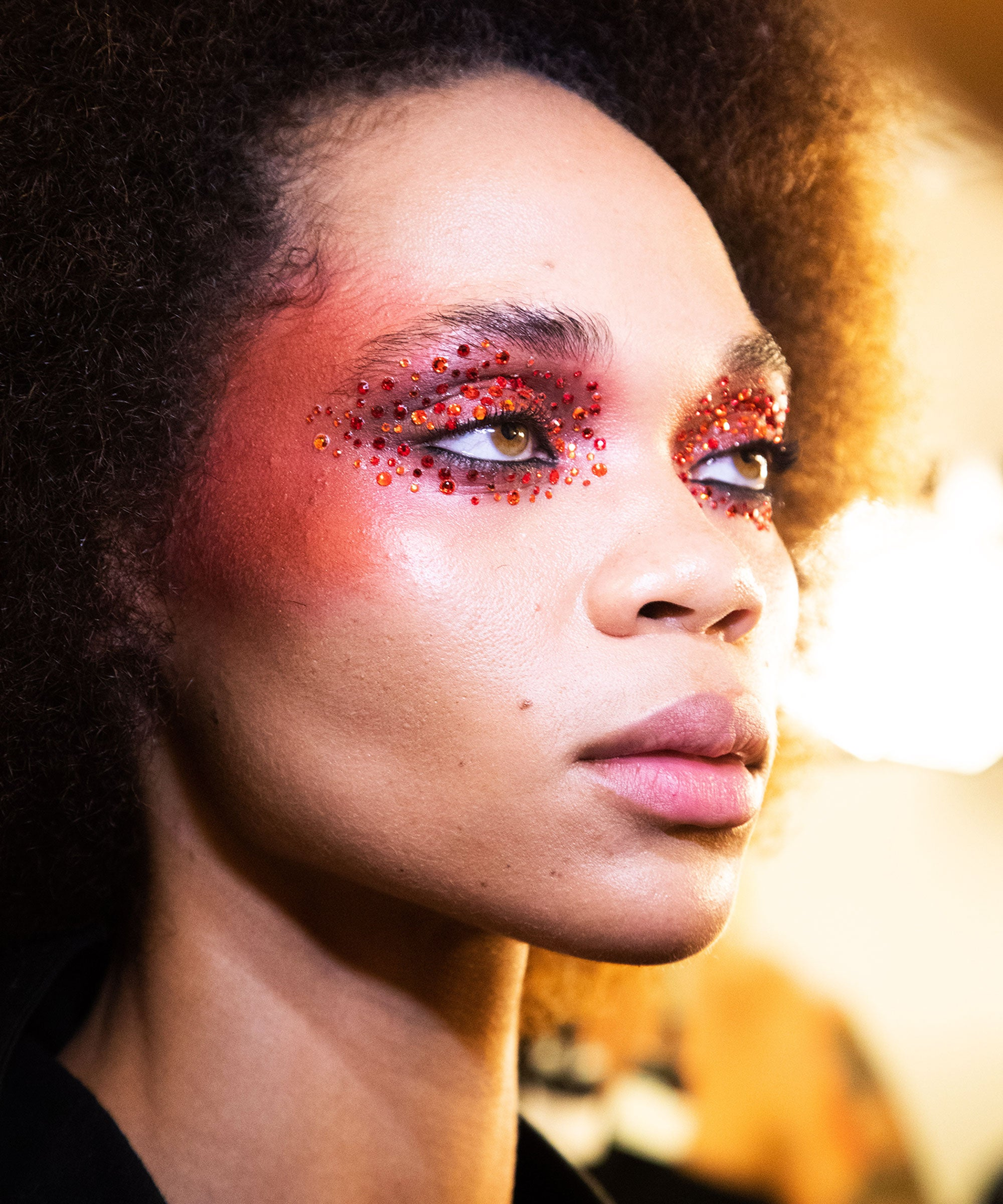 Euphoria Inspired Makeup Is Top Nyfw Beauty Trend