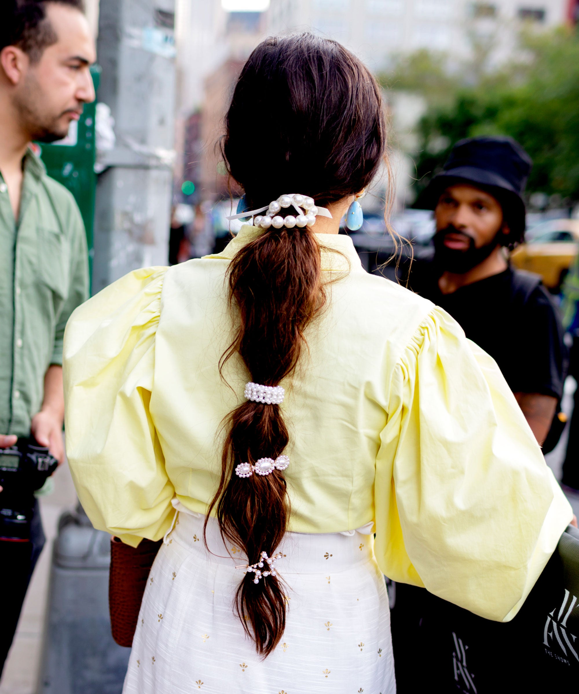 NYFW's Latest Cool-Girl Hair Trend Is SO Easy To Copy