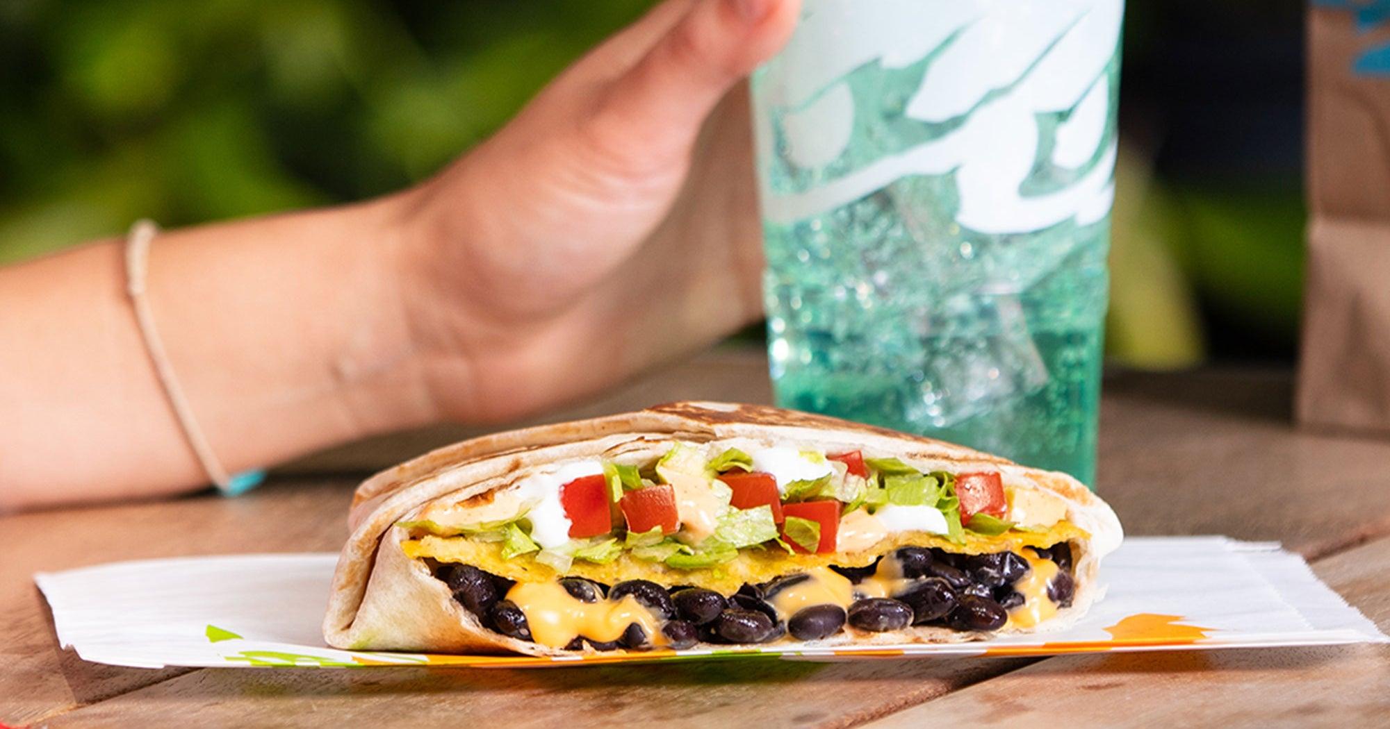 Taco Bell's New Vegetarian Menu Is Fast Food Goals