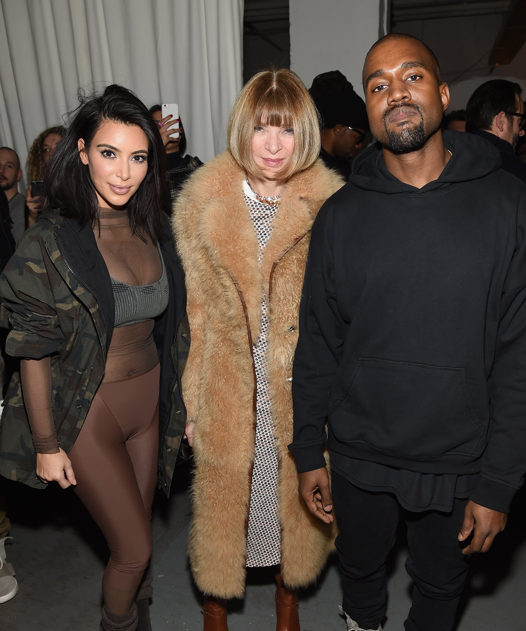 Anna Wintour Defended That Controversial Kimye Vogue Cover