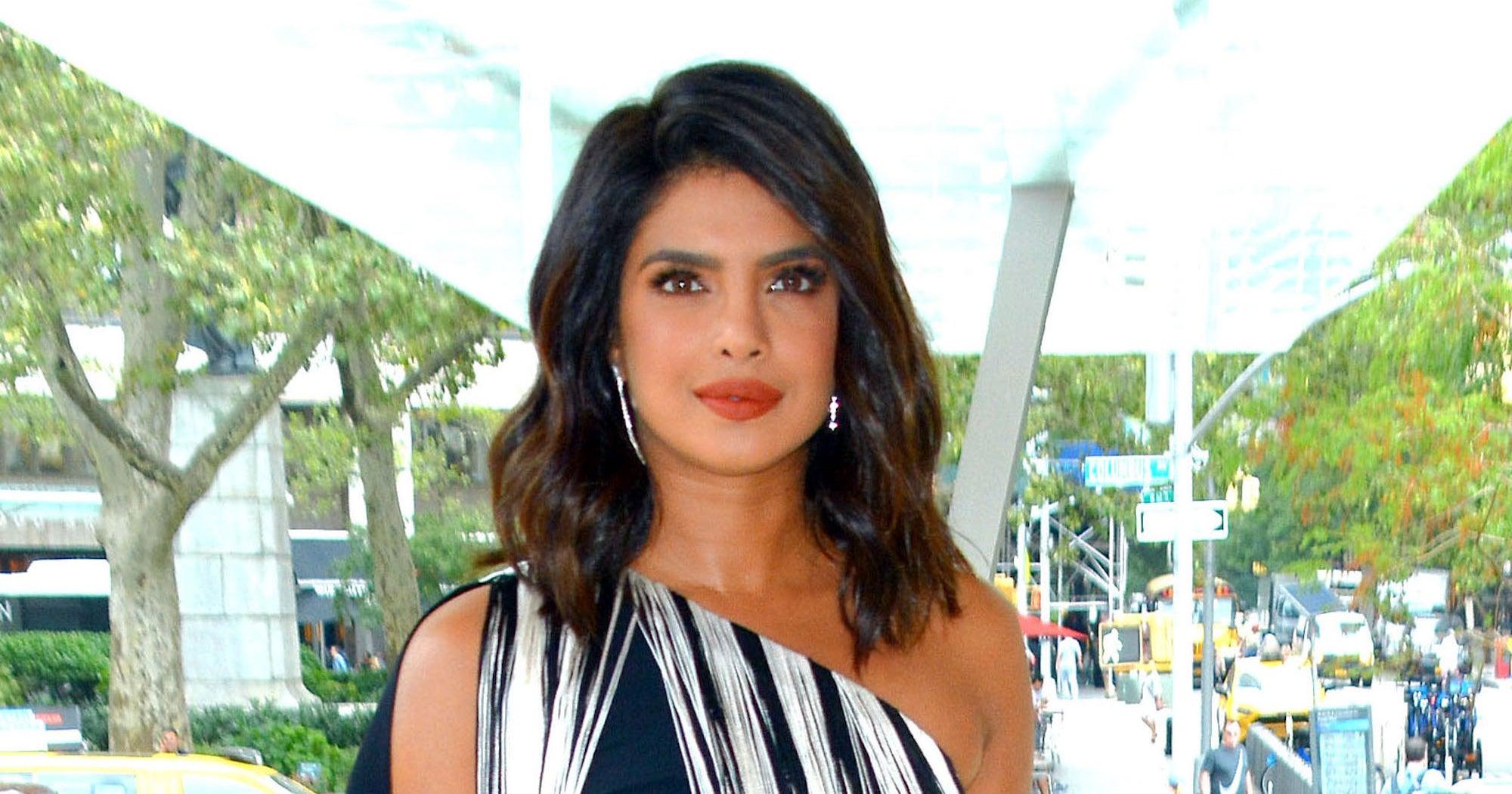 Priyanka Chopra Gets A Dark Brunette Bob For Fall