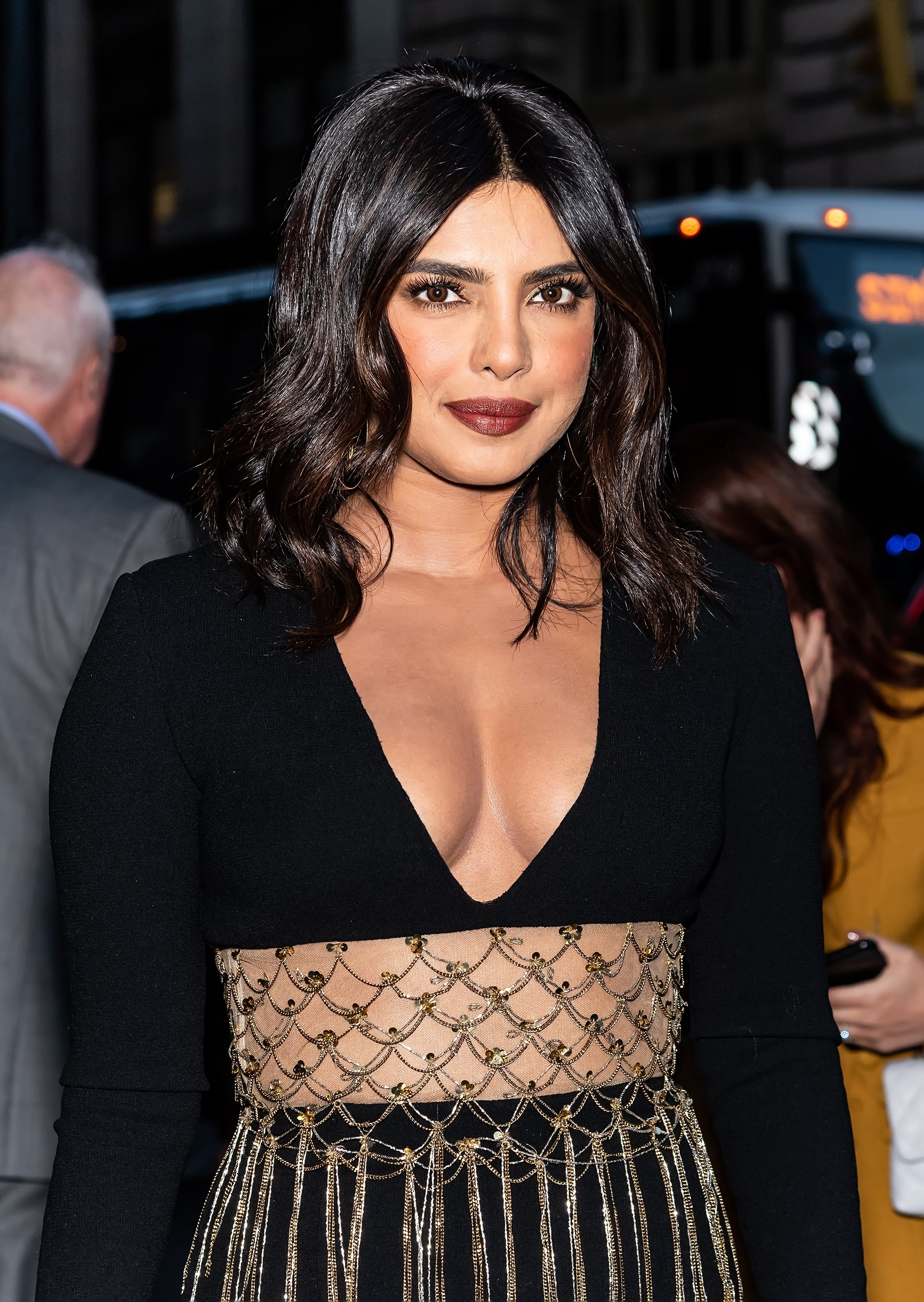 Priyanka Chopra Gets A Dark Brunette Bob For Fall