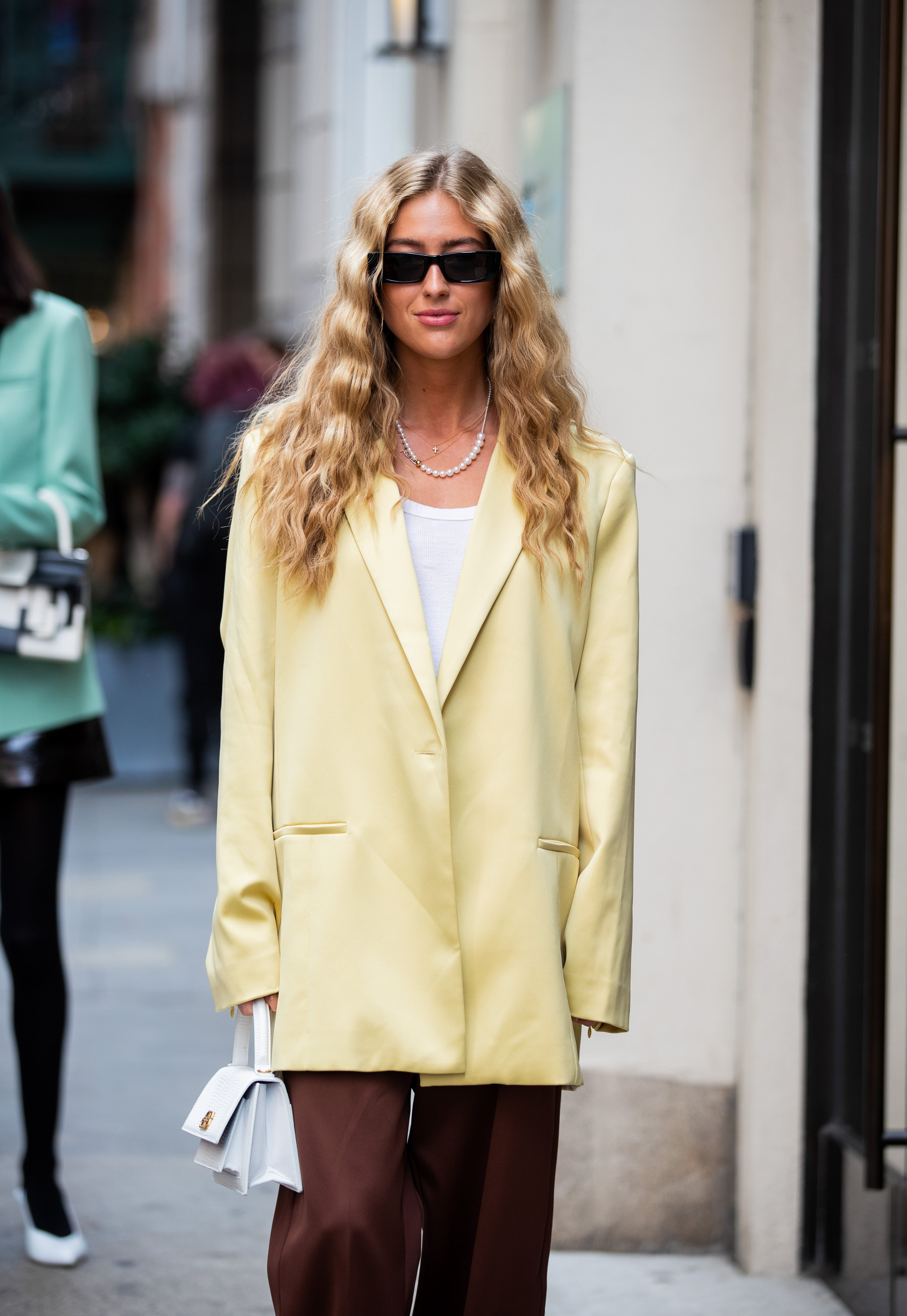 Color Street Winter 2020.New York Fashion Week Street Style Color Trends 2020