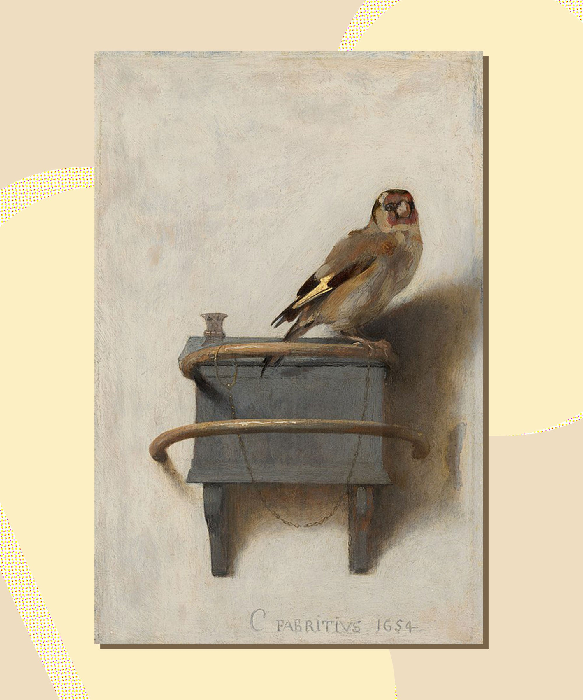 Everything You Need To Know About The Actual Goldfinch Painting