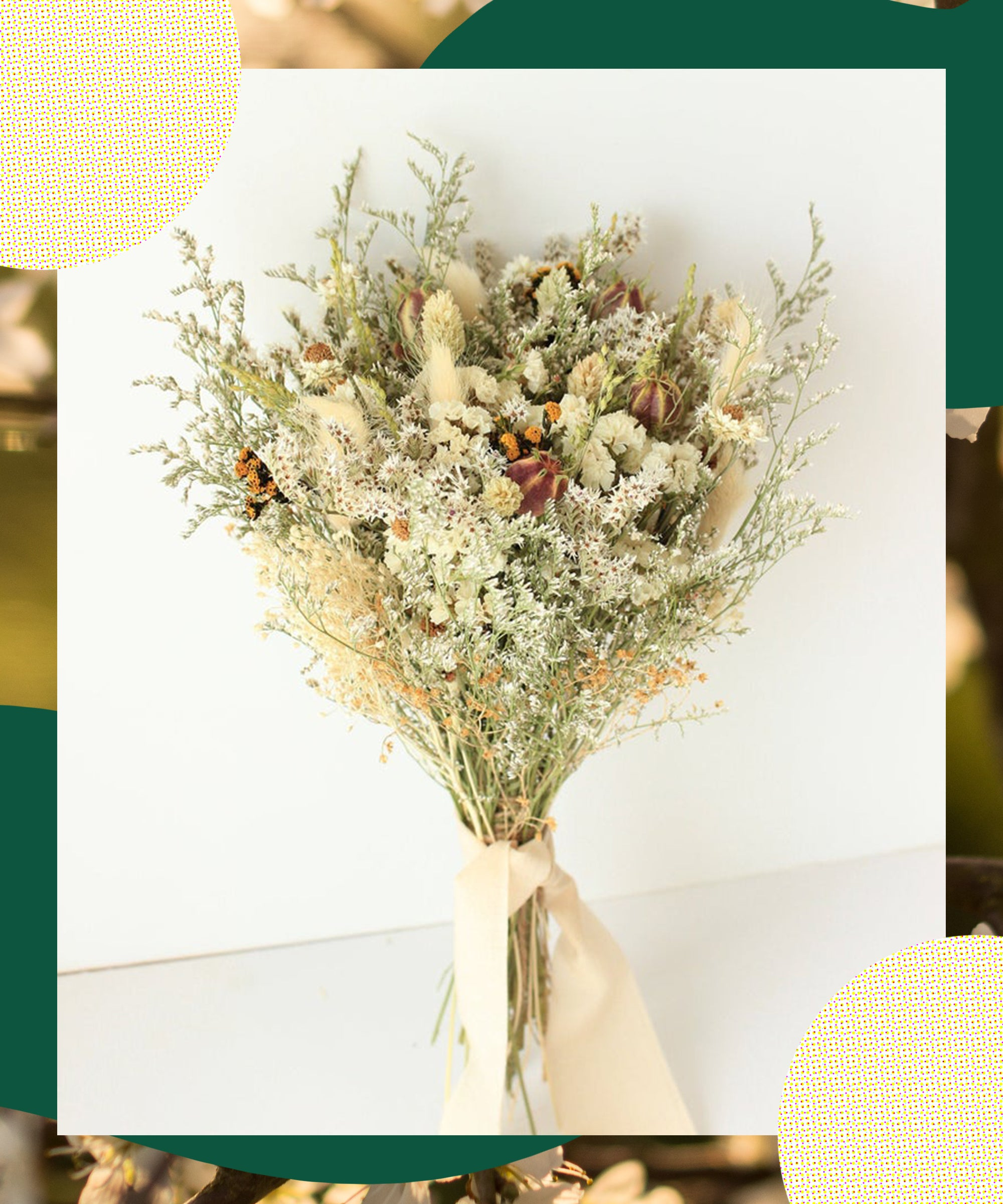 Here's Why The Dead Flower Trend Is Totally Giving Us Life