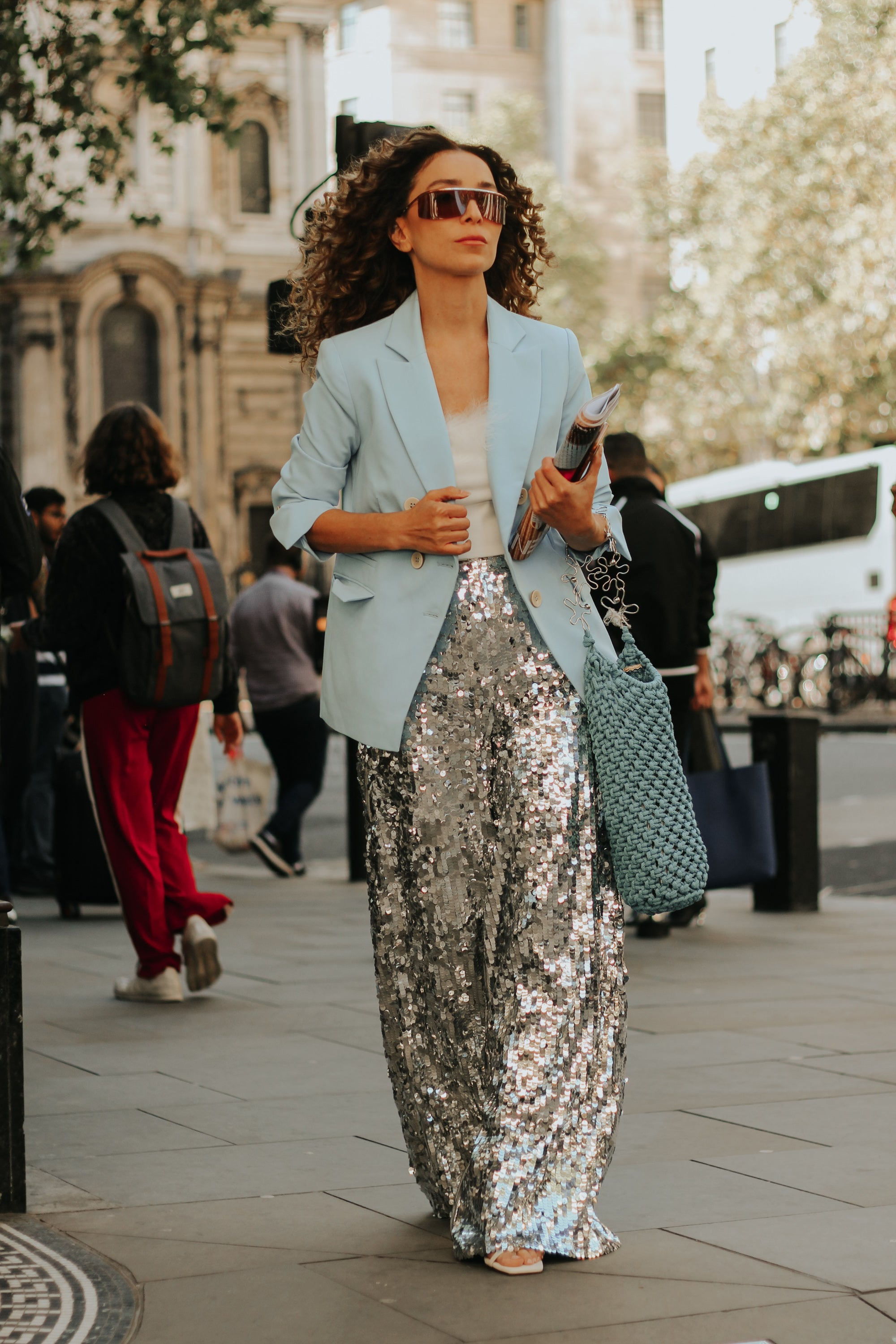 The Best Of London Fashion Week Street Style