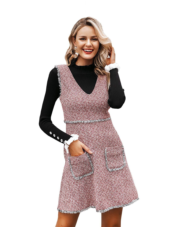 Zandceno Tweed Dress