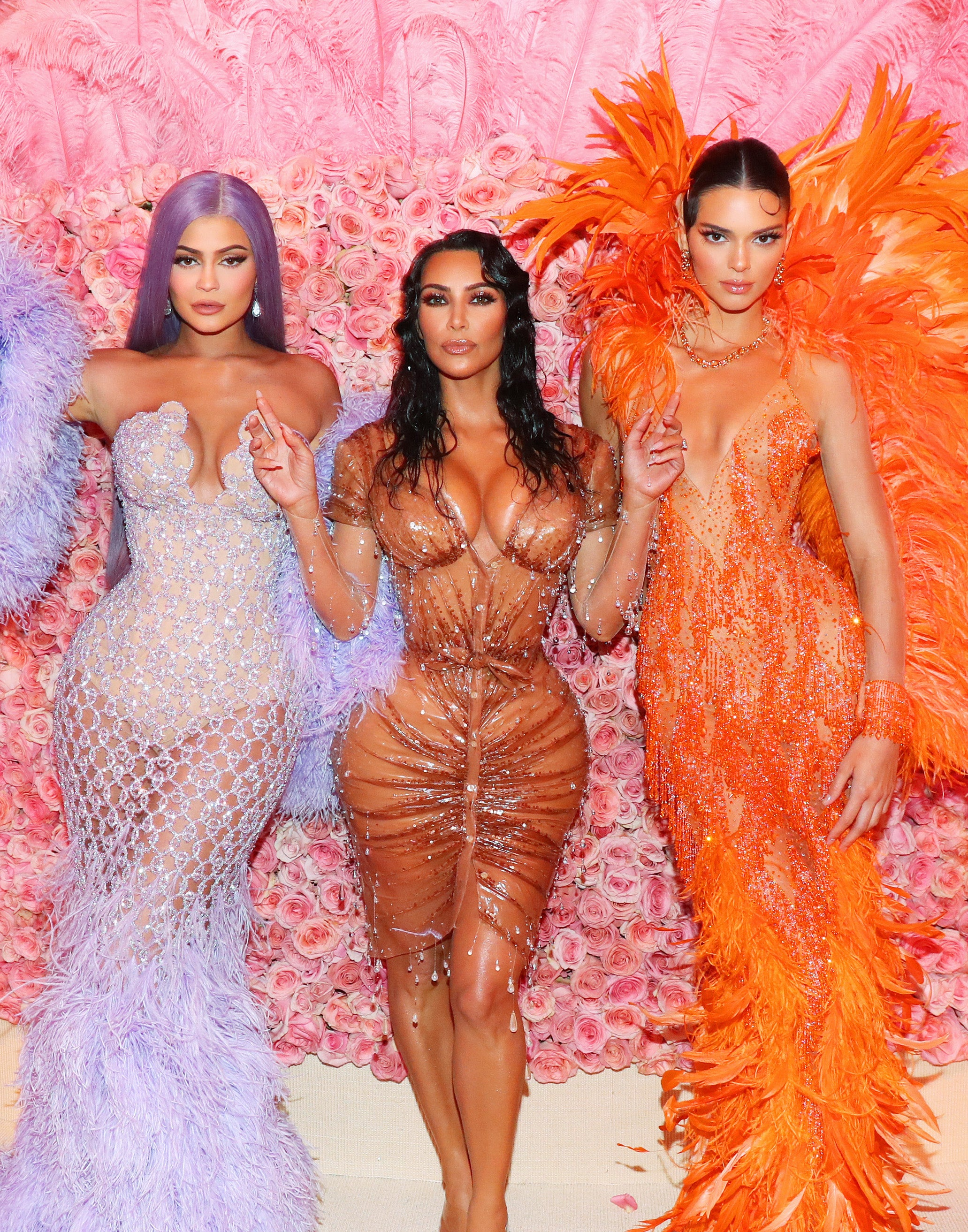 Kim Kardashian Called Out Kendall Jenner For Shading Psalm West's Name