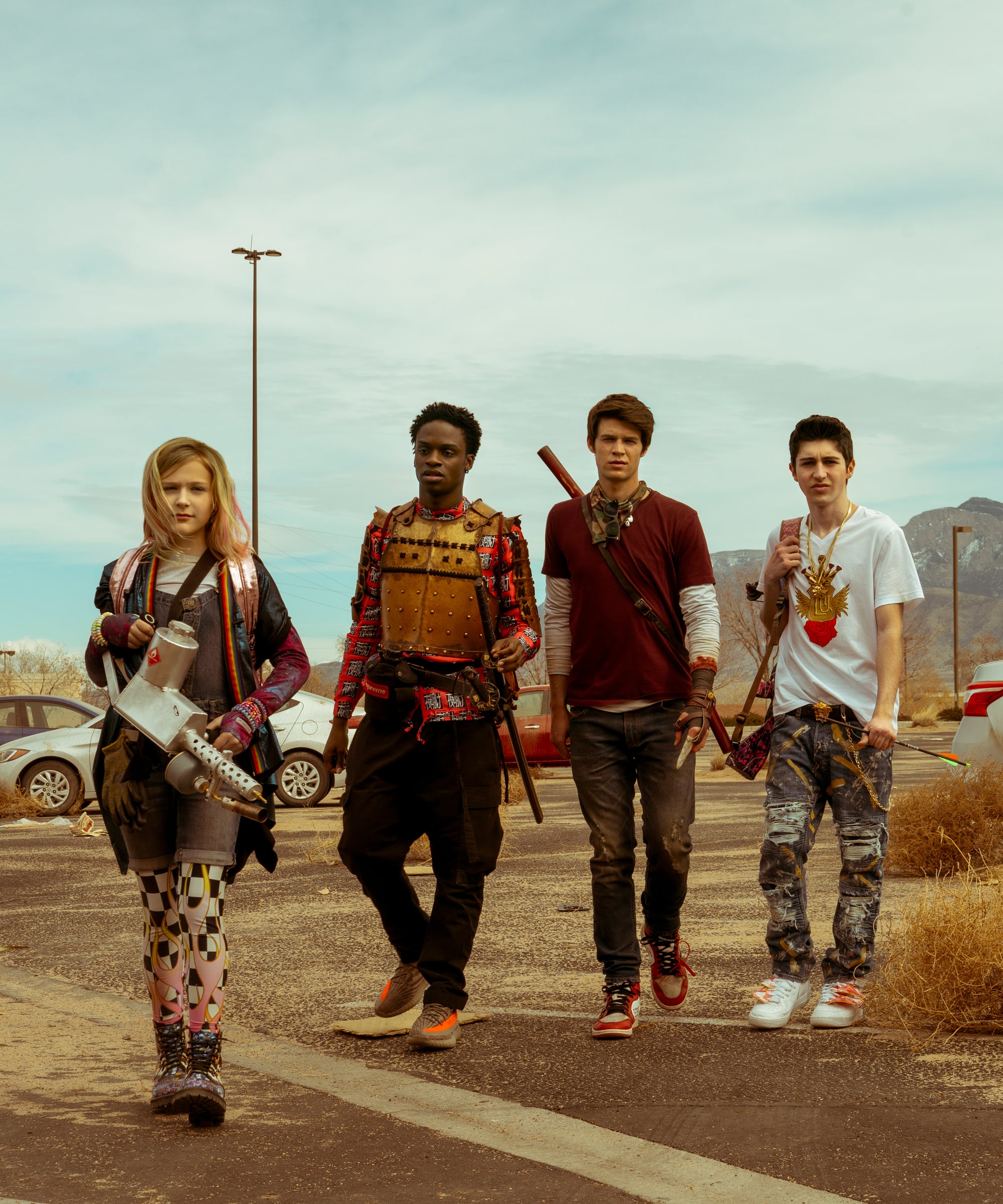 Netflix's Daybreak Is A Hilarious Mix Between Mad Max & The Society