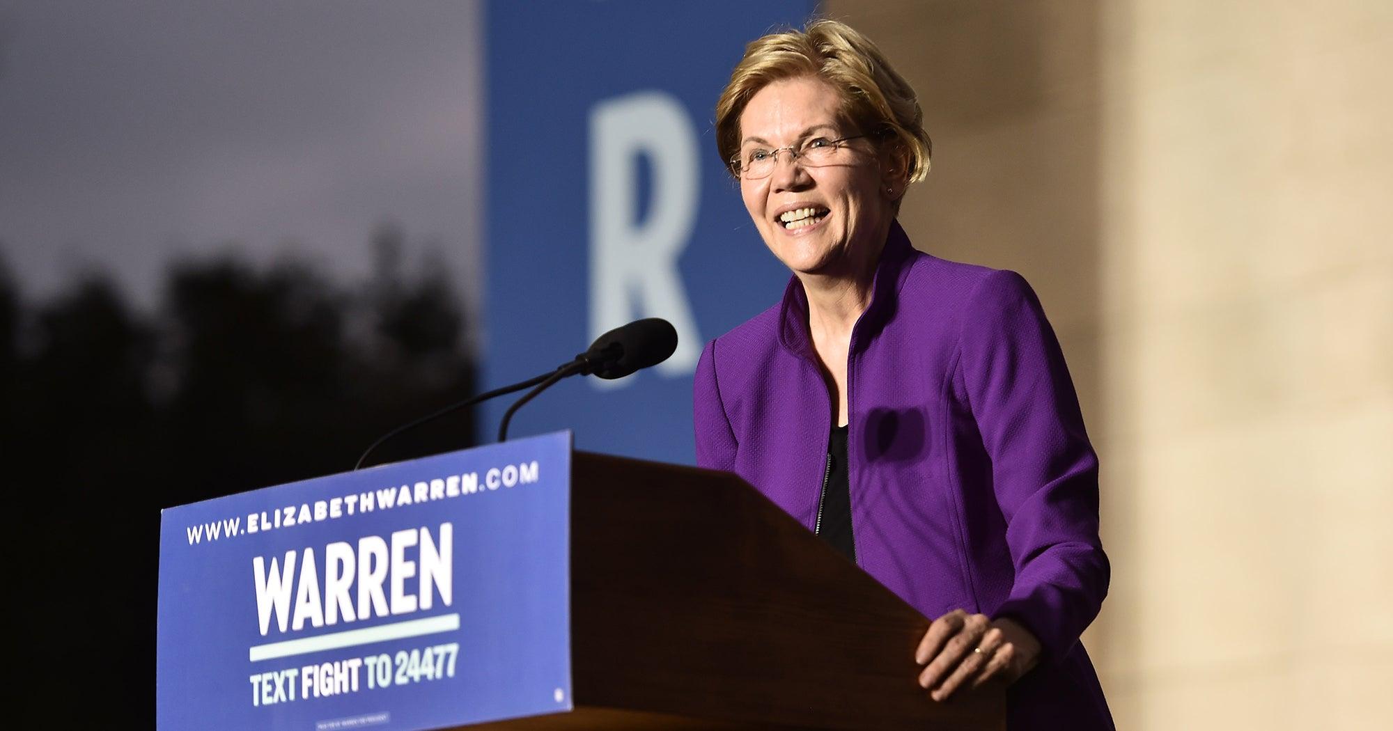 Elizabeth Warren Went Negative This Week & Young People Loved It