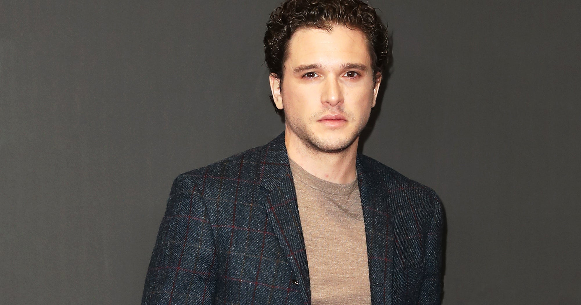 Kit Harington Makes First Appearance Since Rehab & He's All Smiles
