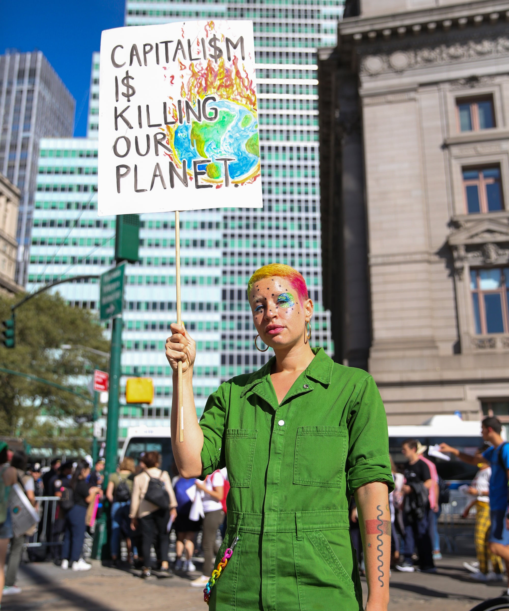 Young Women Are Leading The Global Climate Strike