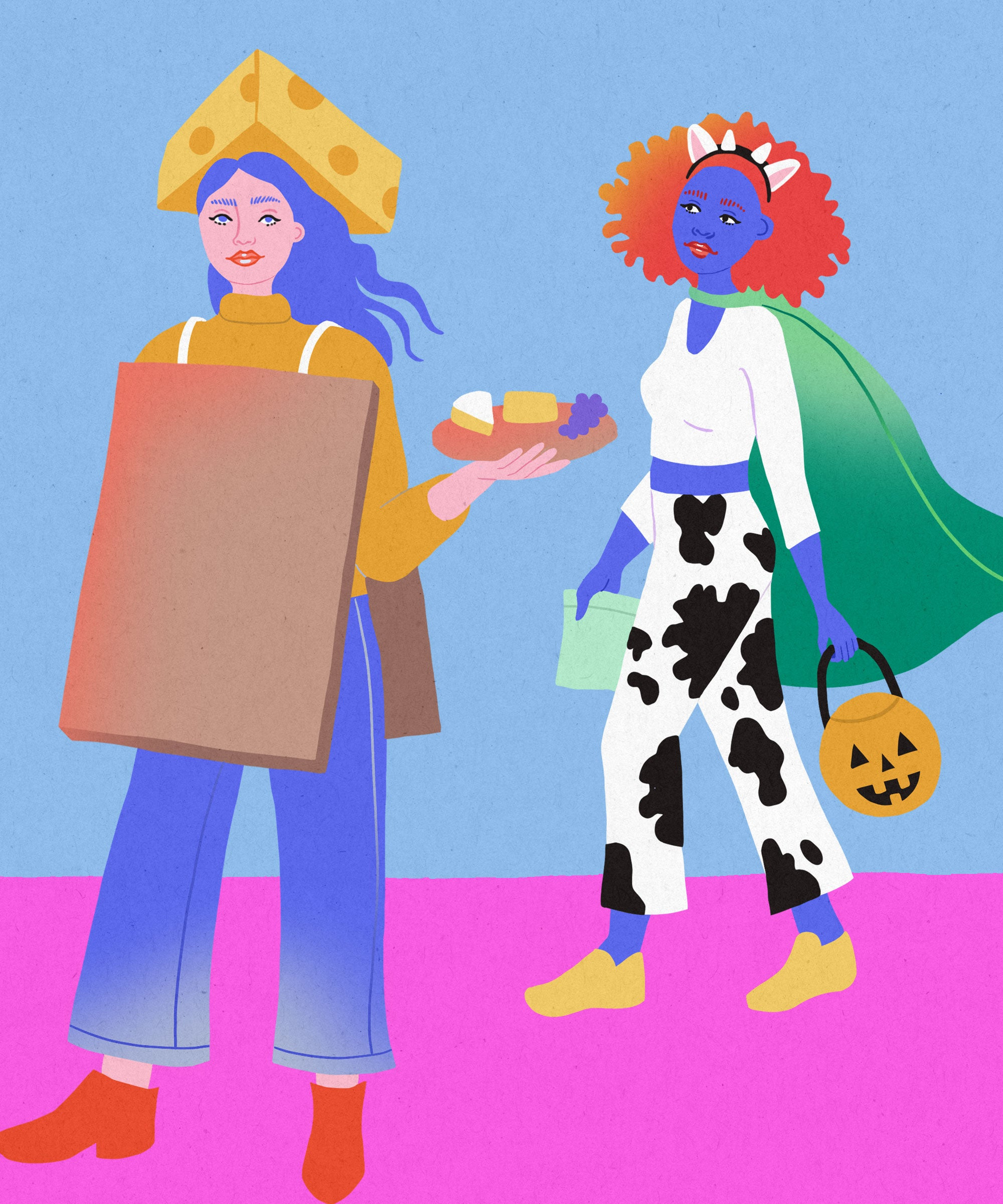 Spiked Seltzer, Beyond Burger & Other Trendy Food Costumes To DIY This Year