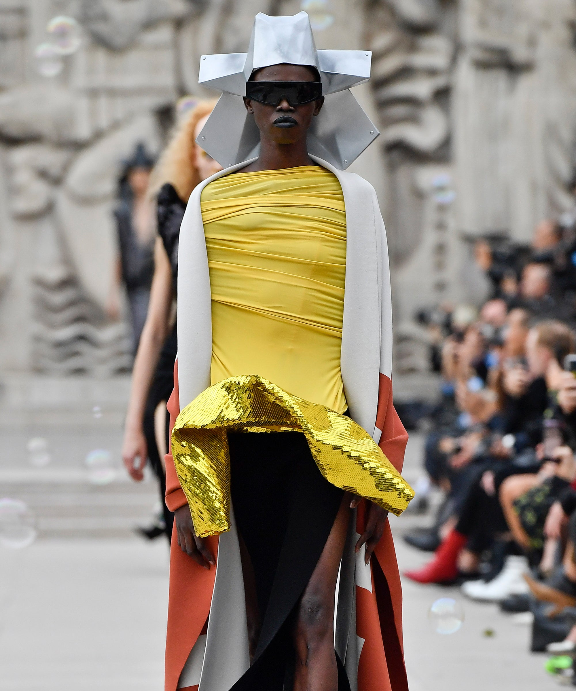 Rick Owens' Family In Mexico Inspired The Pageantry In His Latest Collection