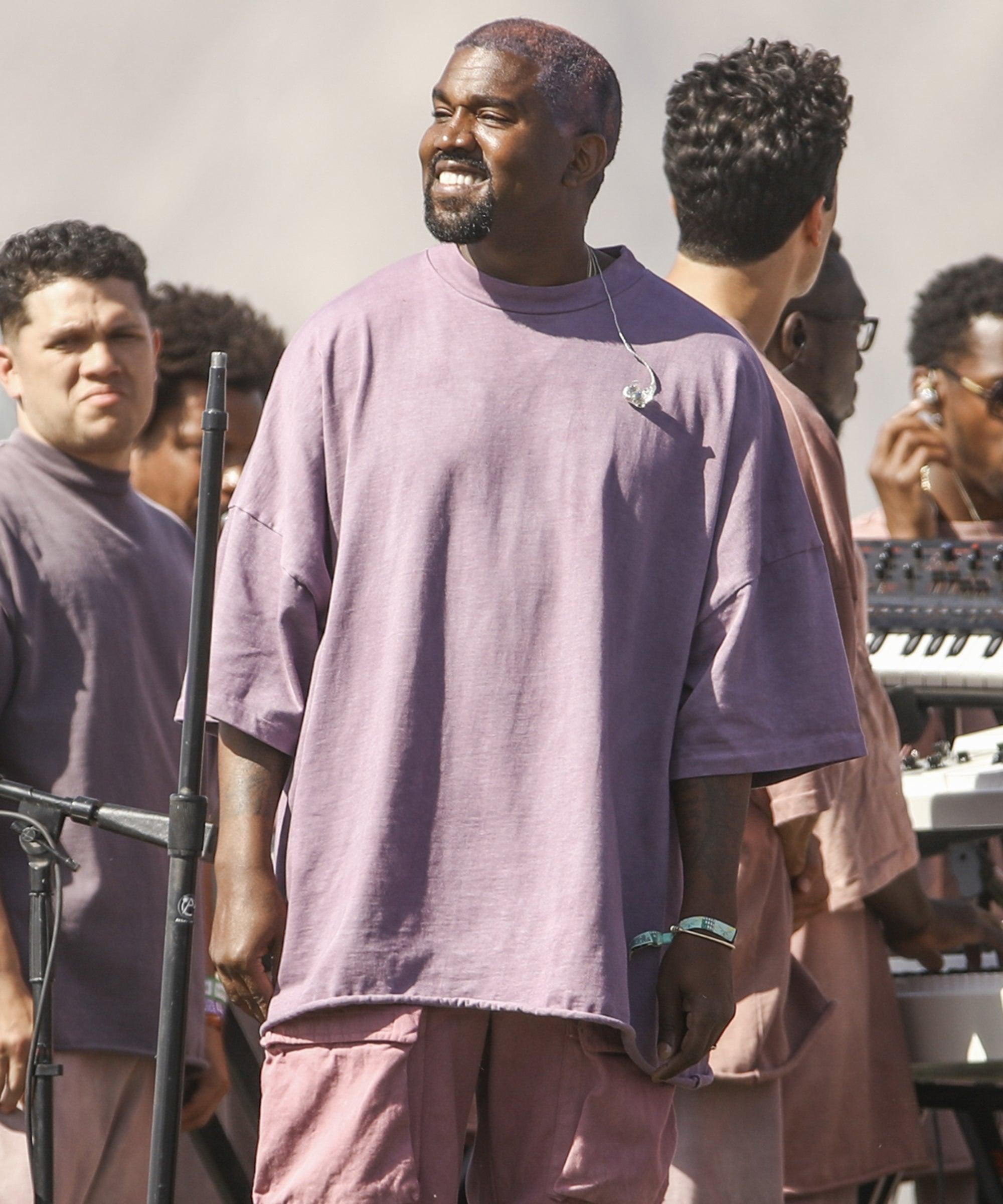 Kanye West Detroit Show For Jesus Is King Album