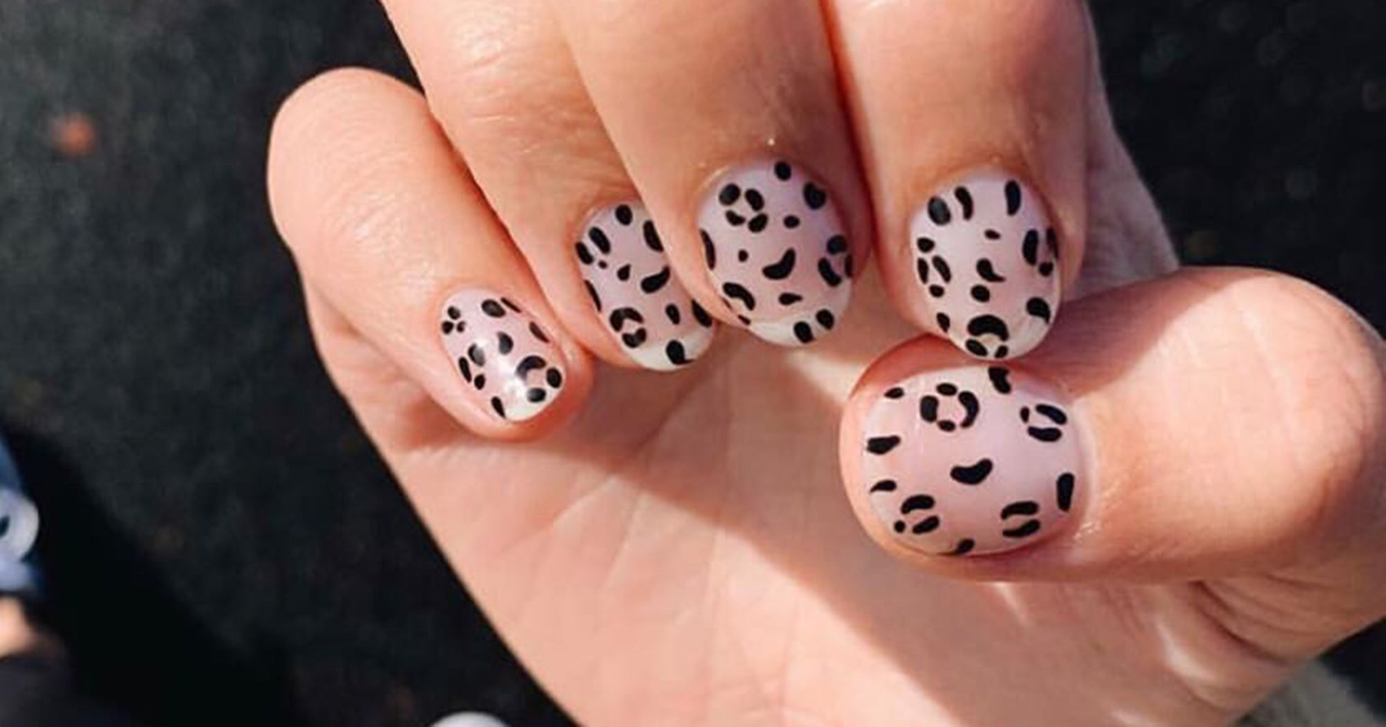 Black Nail Art Designs For Trendy Fall Manicure Ideas