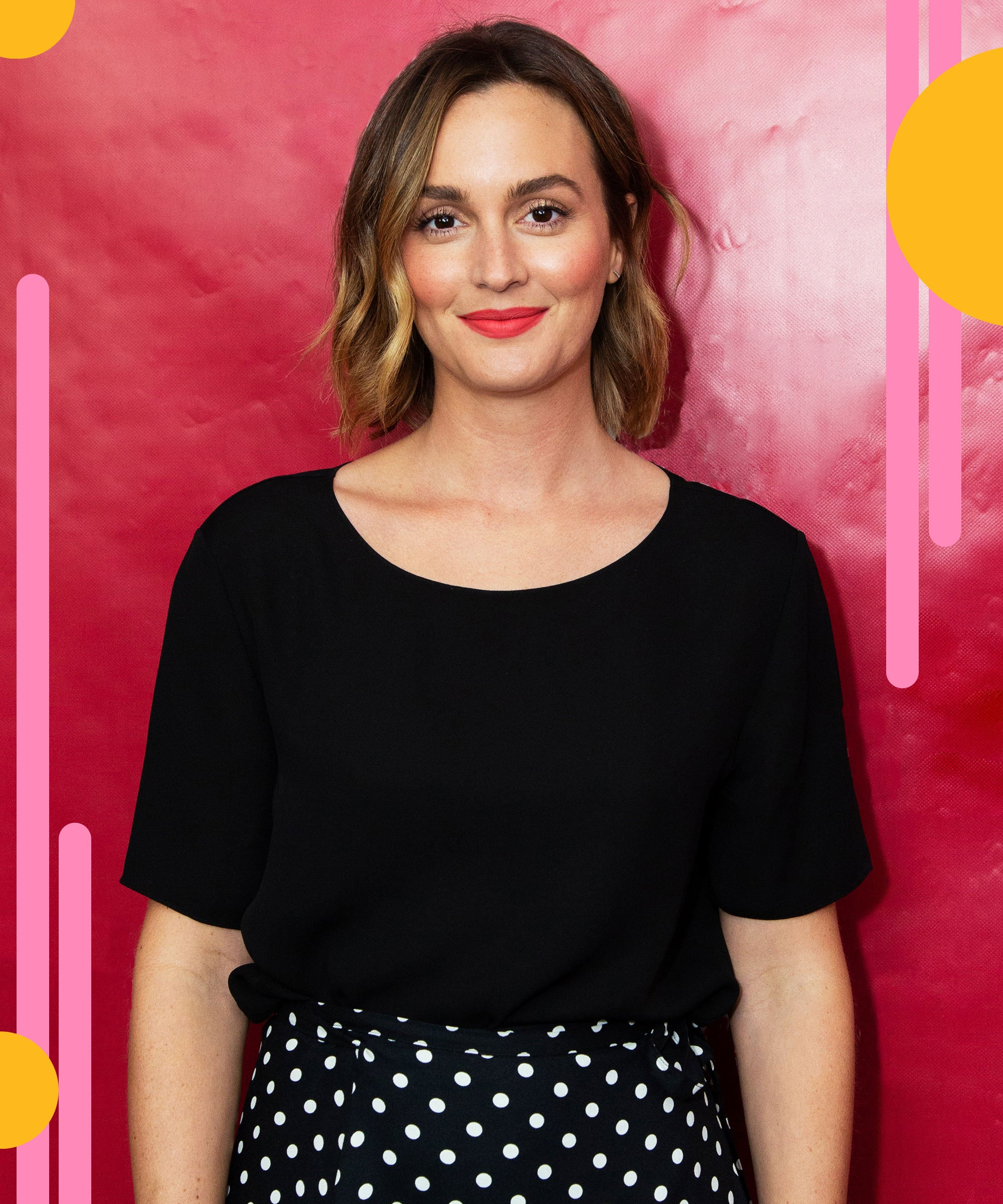 Leighton Meester On Mommy Instagram Culture & Marrying Her Crush