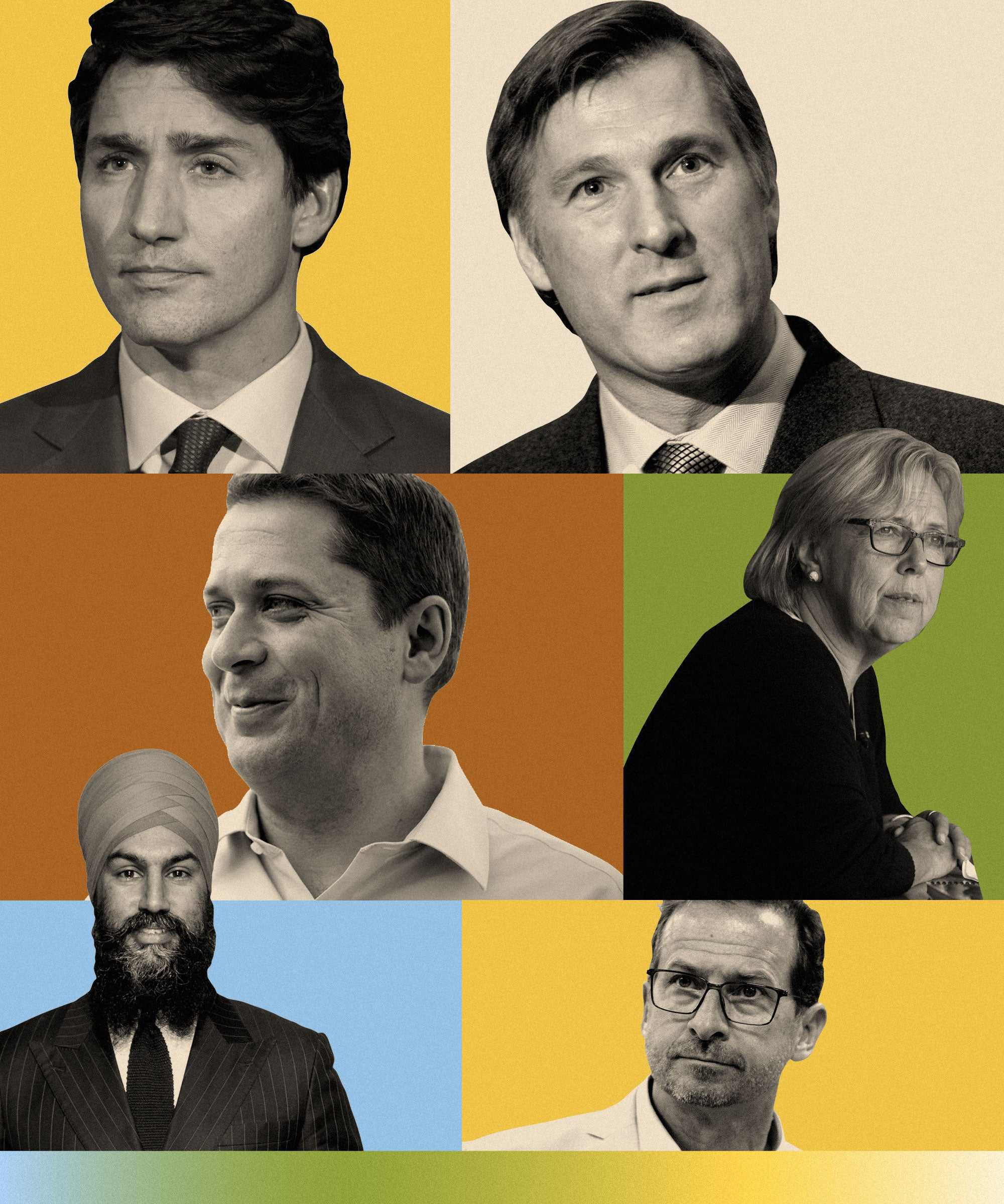 How The Federal Party Leaders & Their Platforms Stack Up