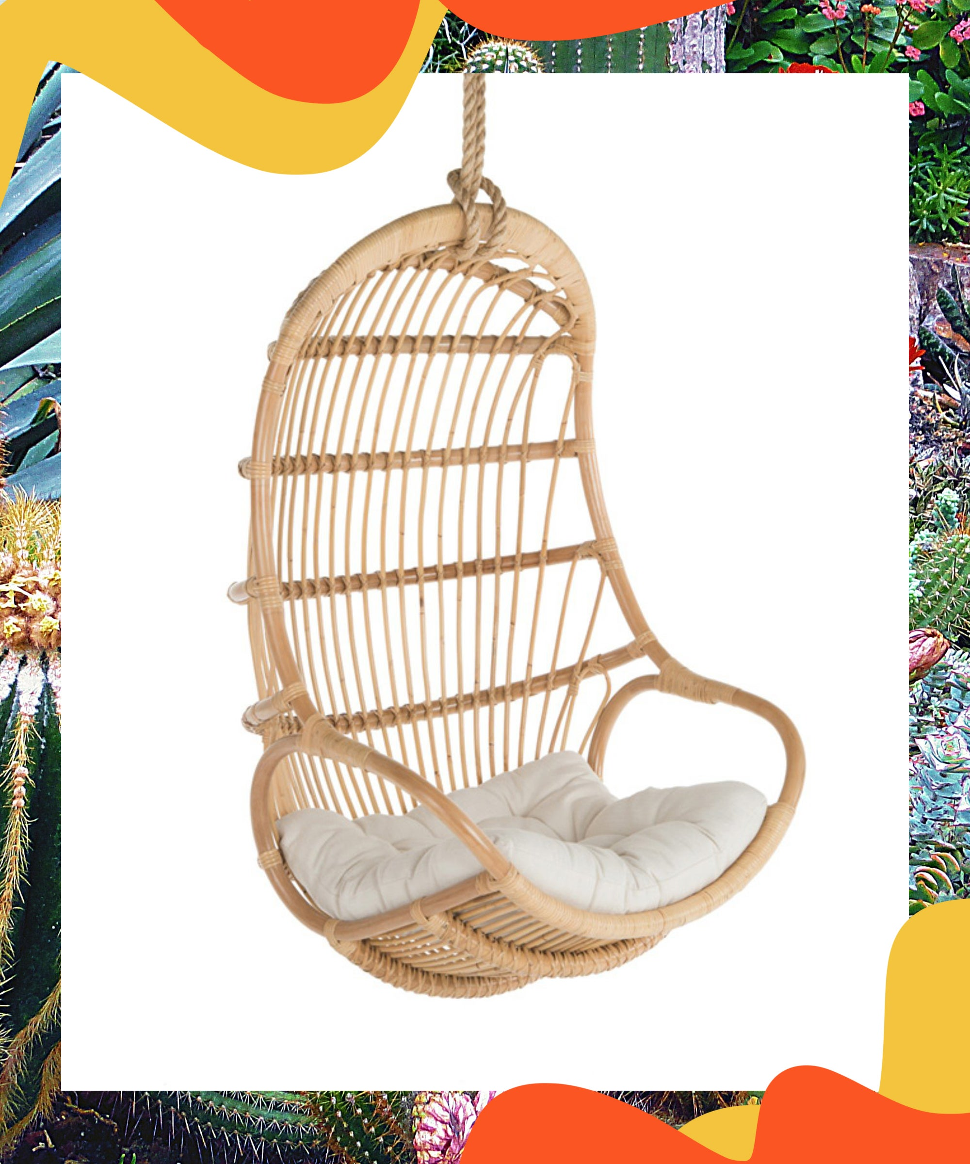 The Coolest Indoor Hanging Chairs To Relax In Right Now