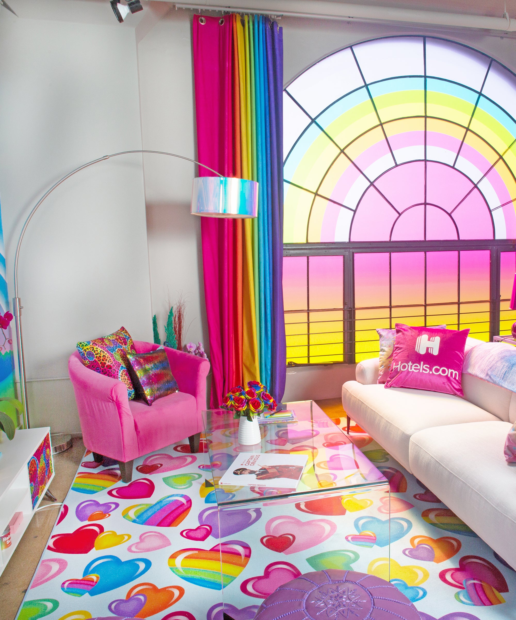 This Lisa Frank Hotel Room Is Here To Make All Your Tween Dreams A Reality