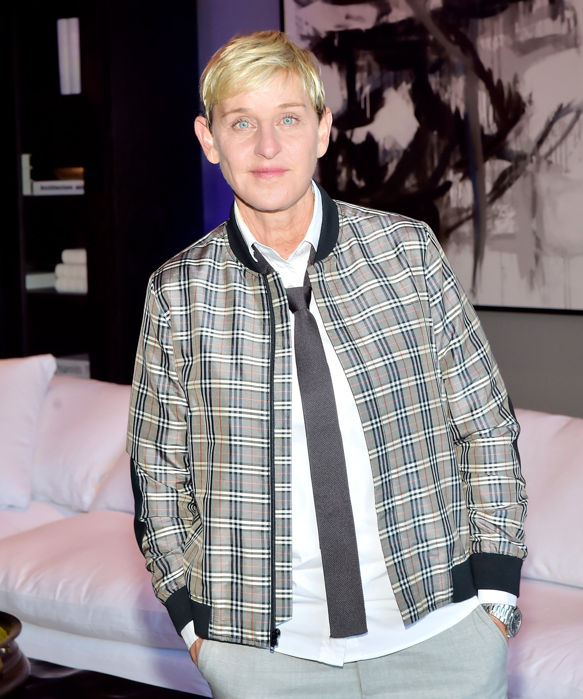 Ellen DeGeneres Addresses Controversy Around George W. Bush Photo