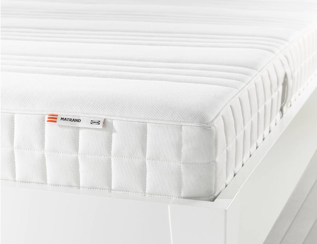 Matrand Memory Foam Mattress Firm White Full