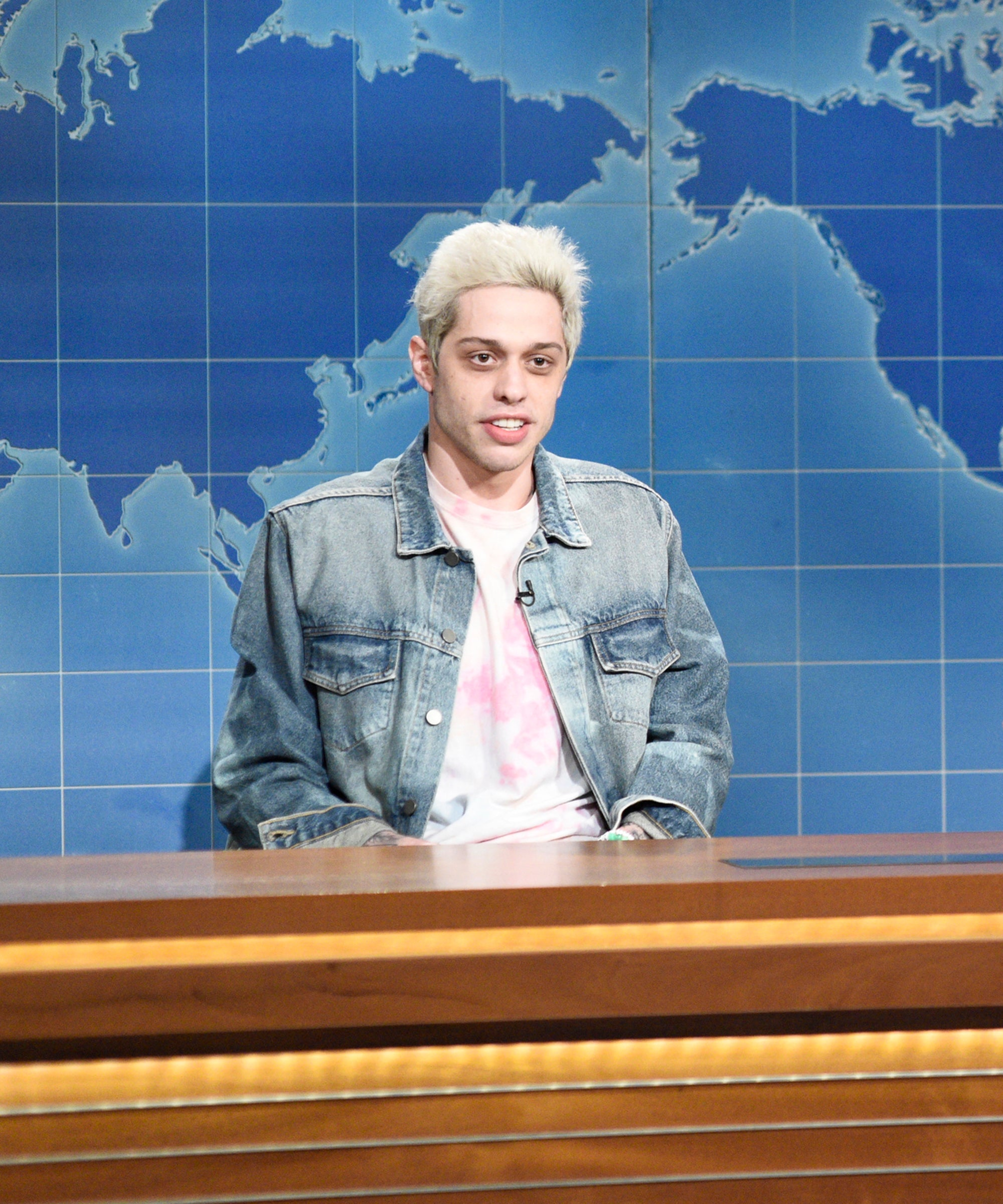 Pete Davidson Finally Returns To SNL — From The Upside Down