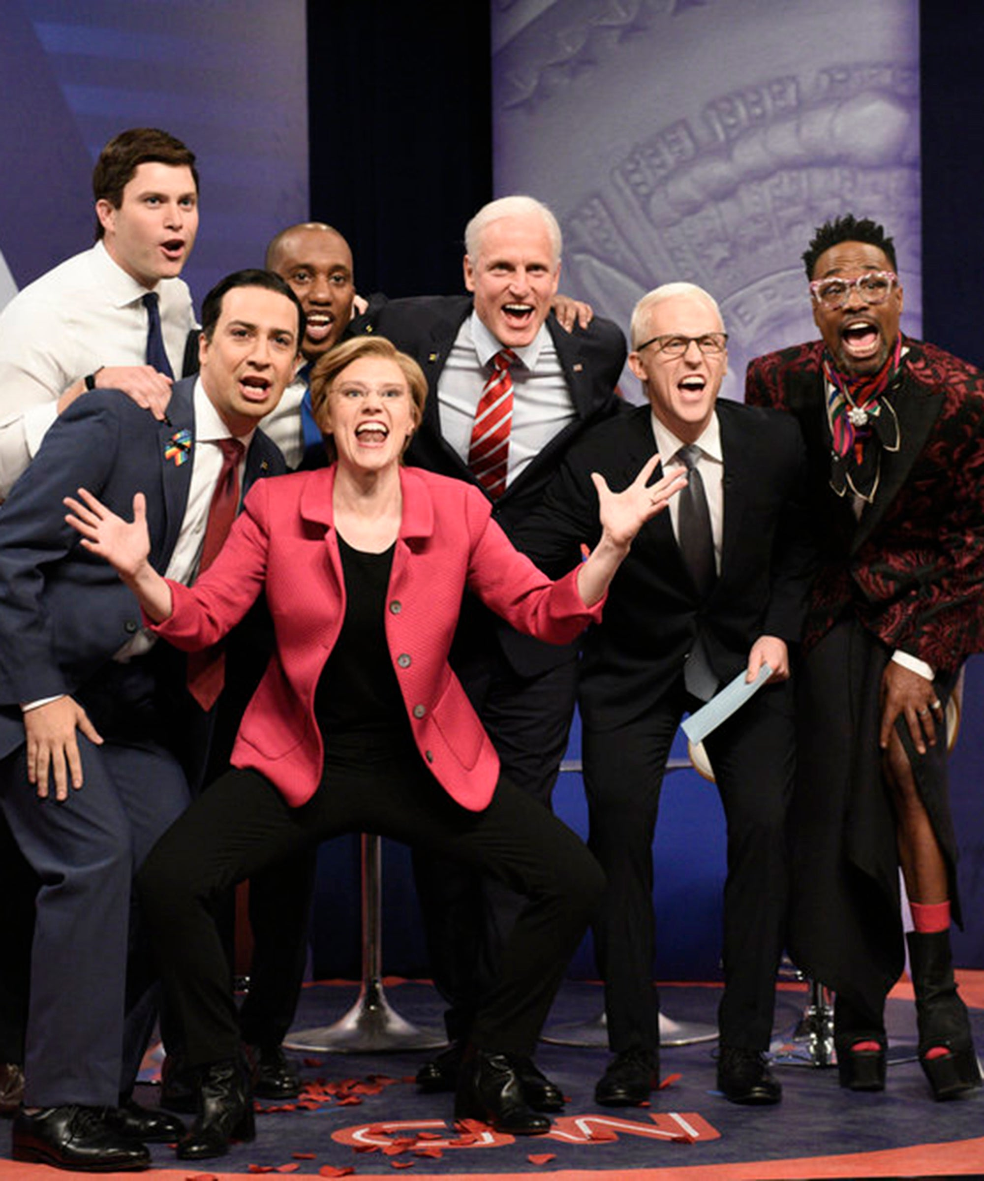 SNL's Elizabeth Warren Wins The Equality Town Hall — But Where Were The Other Women?