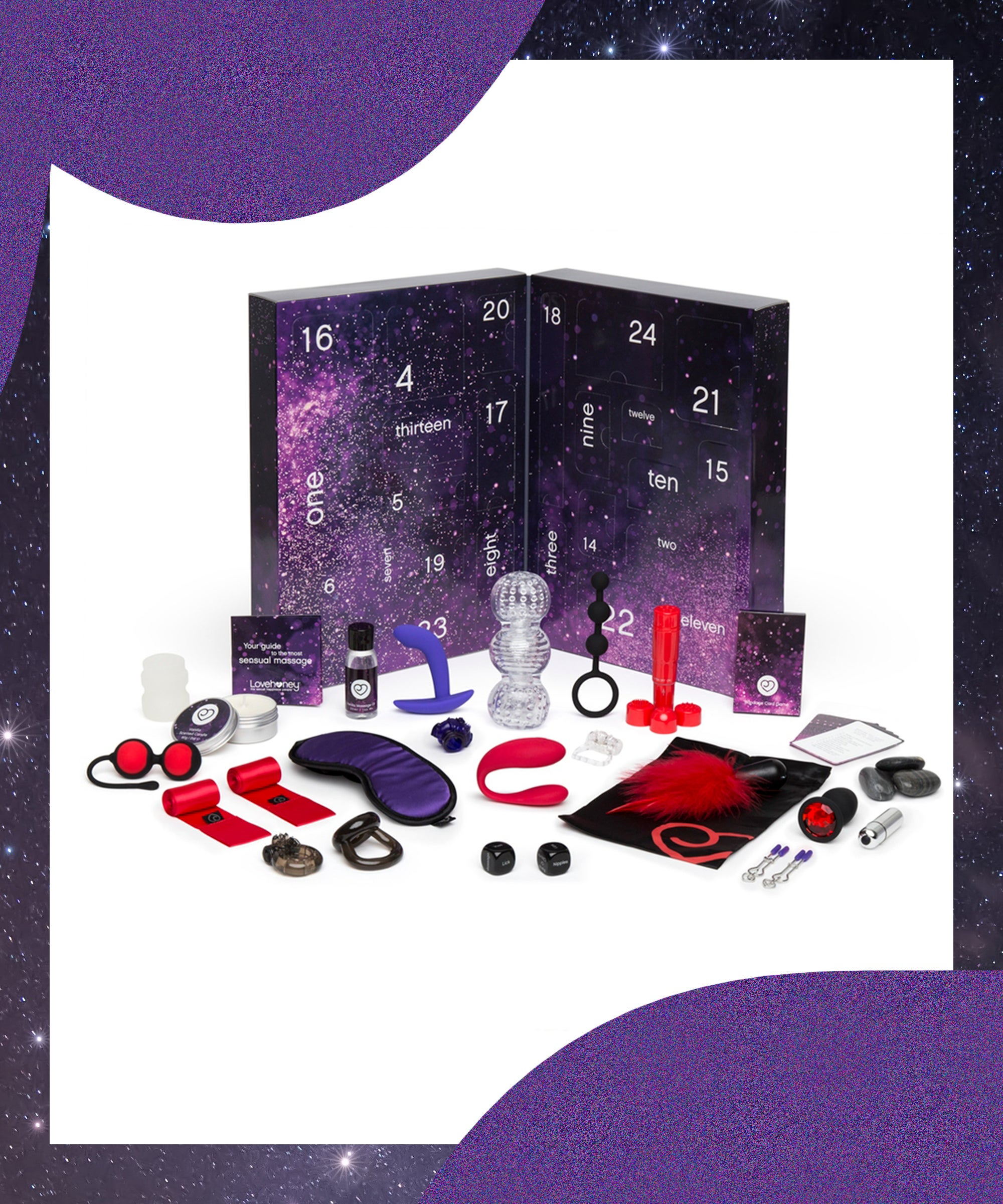 Happy Holidays From This Sex Toy Advent Calendar — Yes, You Read That Correctly