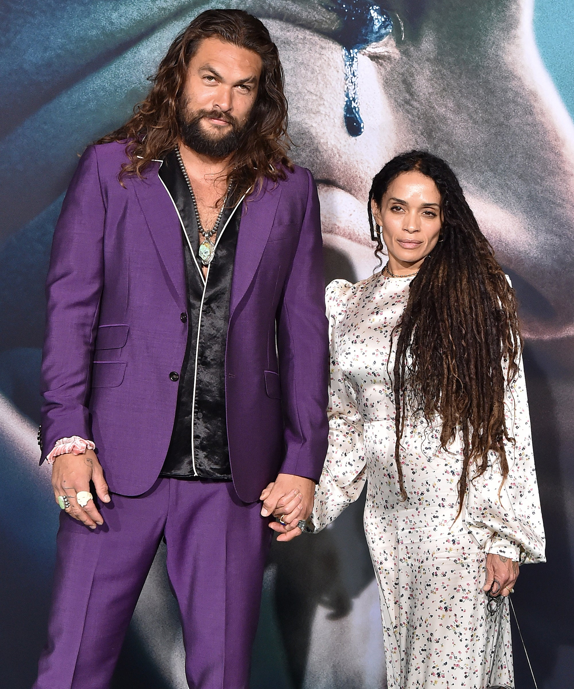 """Jason Momoa Admits His Love Story With Lisa Bonet Has Some """"Stalker""""-ish Roots"""