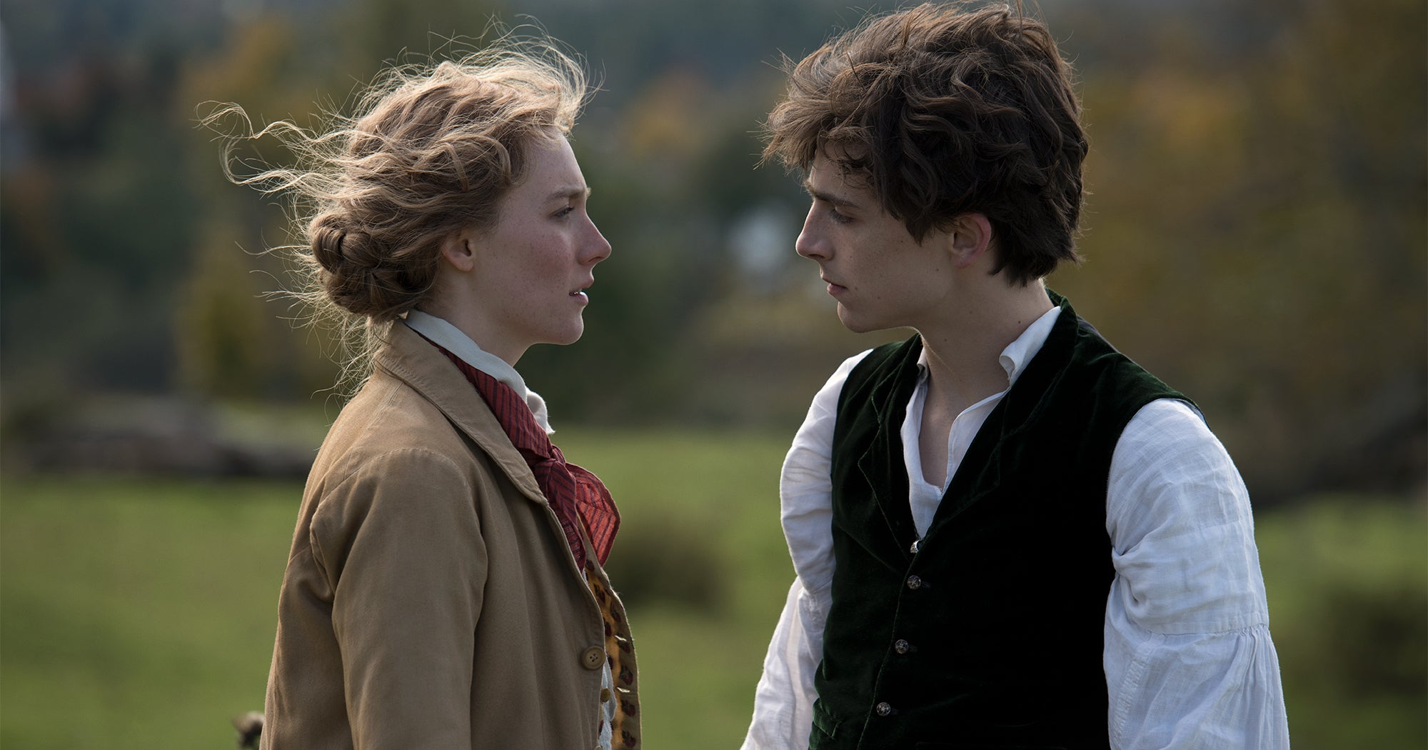 Timothée Chalamet & Saoirse Ronan Know They Have A Special Connection