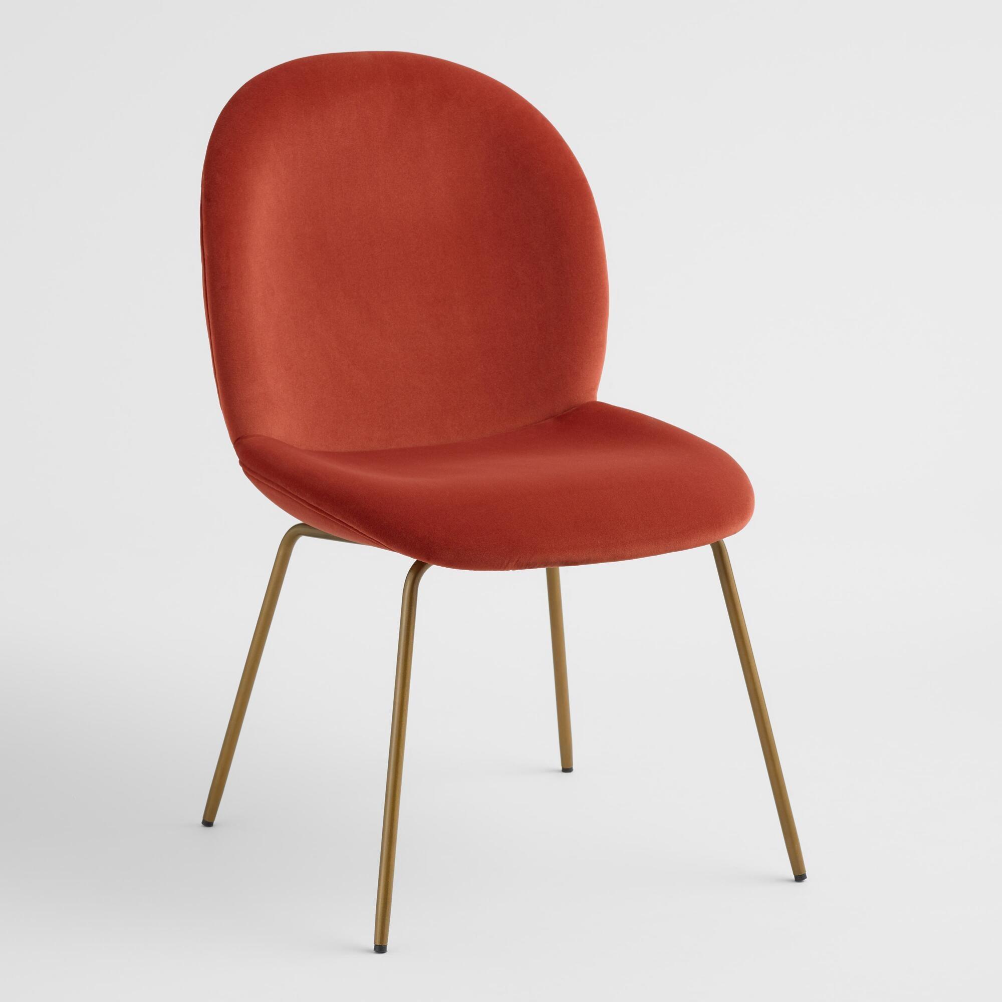 Cost Plus World Market + Velvet Vivian Dining Chairs Set of 2