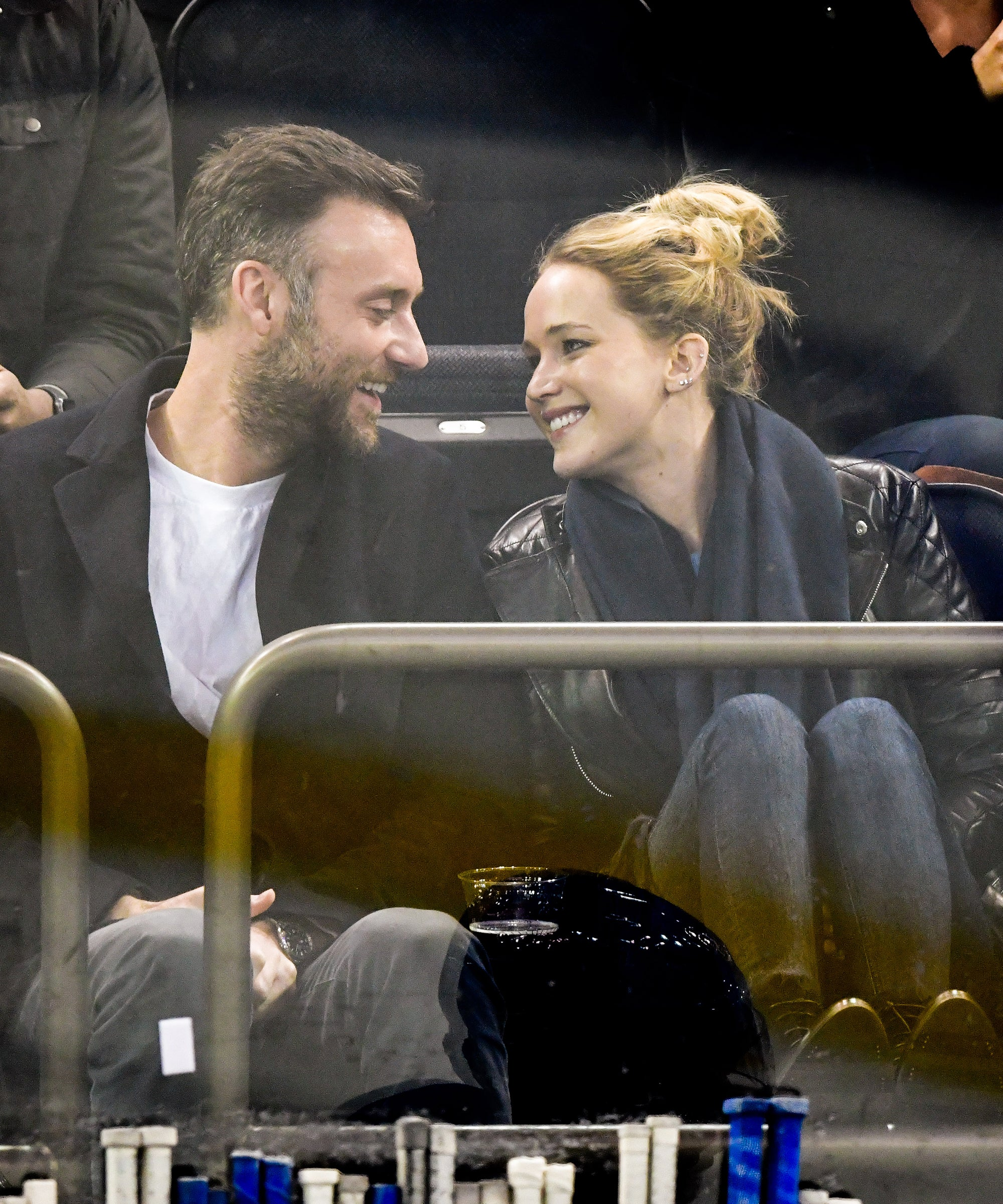 Jennifer Lawrence & Cooke Maroney Arrive Via Private Jet For Their Possibly Haunted Wedding
