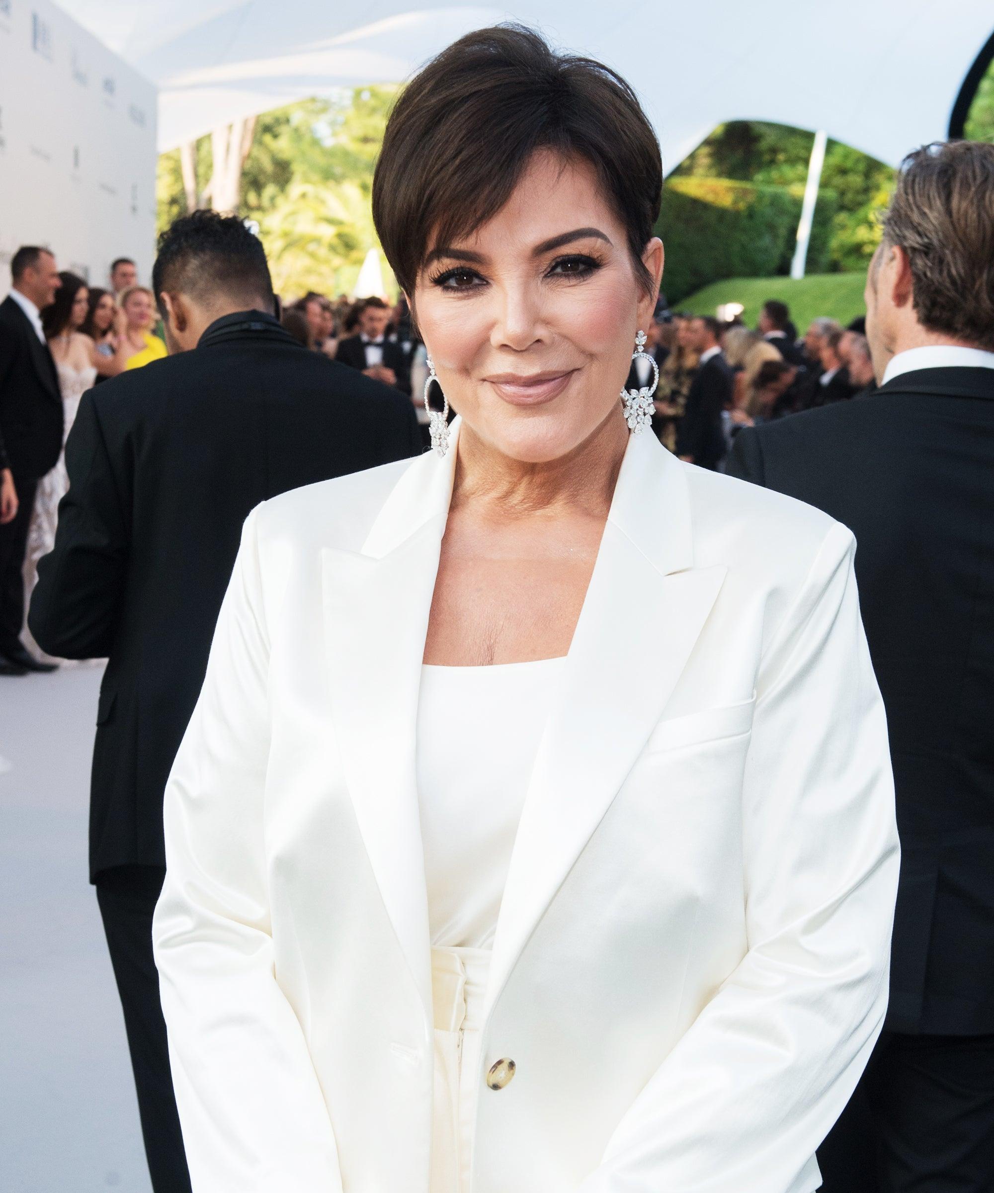 Awesome Kris Jenner Jennifer Lawrence Over Kim Kardashian Natural Hairstyles Runnerswayorg