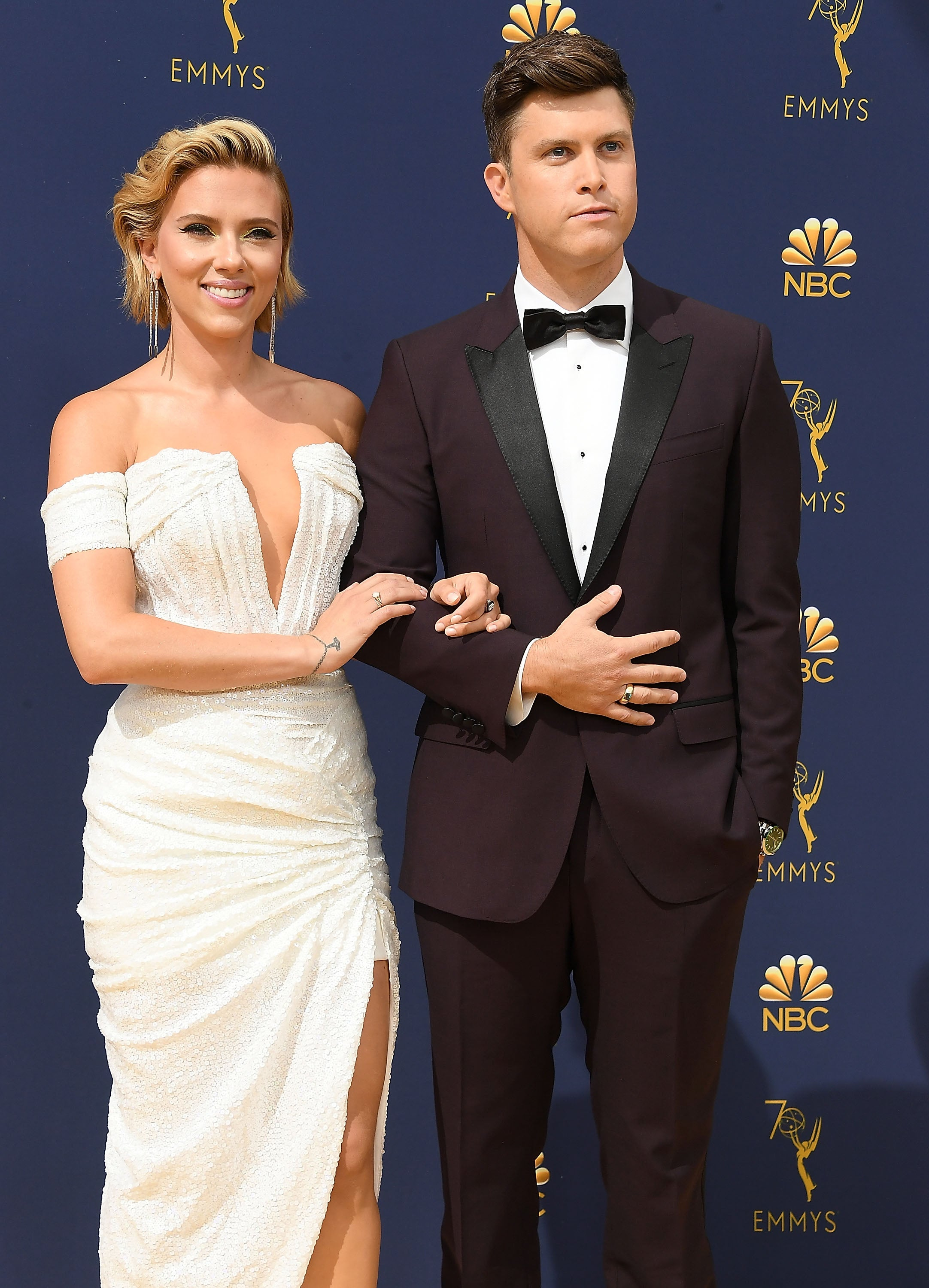 Scarlett Johansson Has One Very Explicit Rule For Colin Jost's Bachelor Party