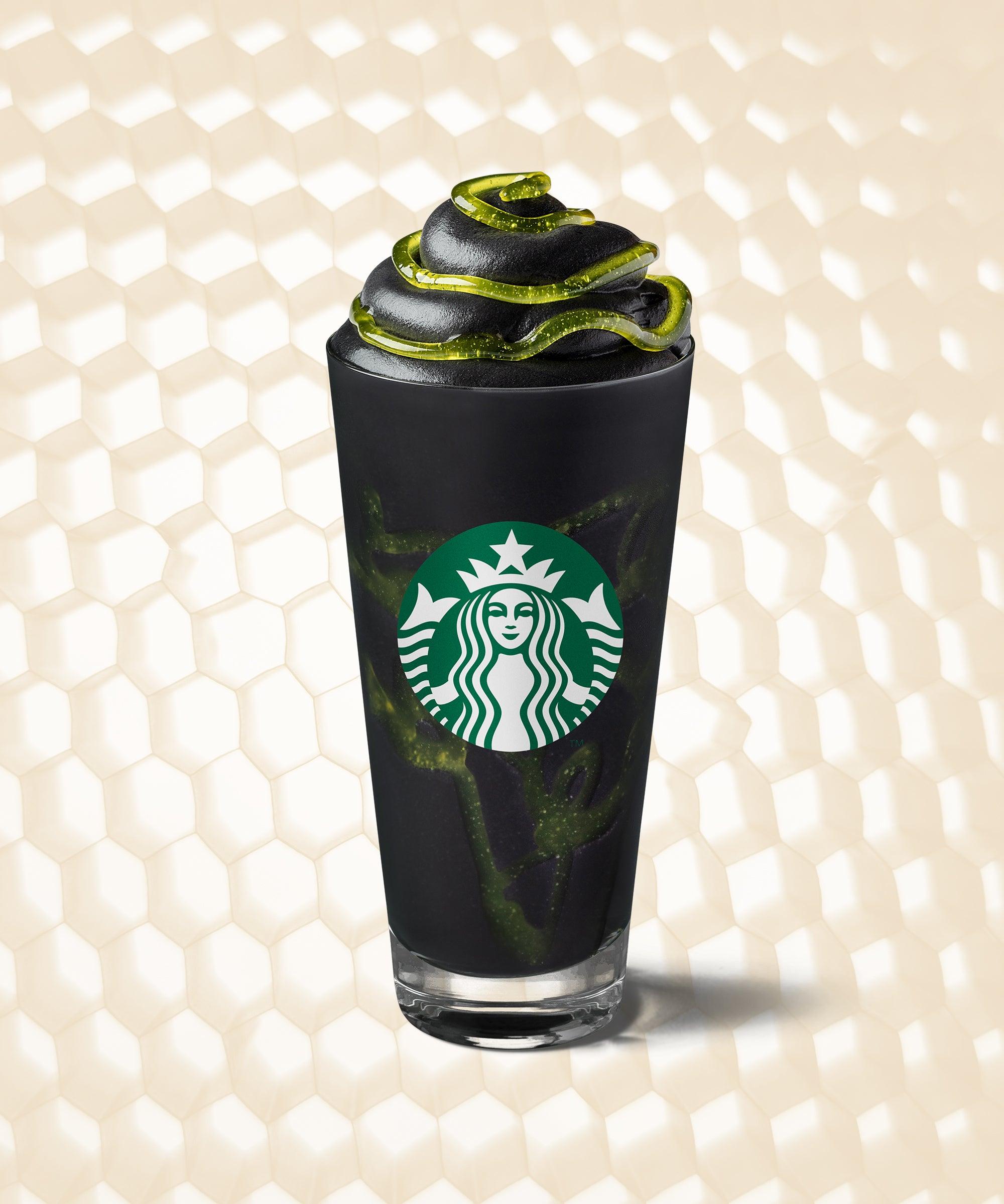 Starbucks Halloween Drink 2020 Starbucks New Phantom Frappuccino Halloween Drink 2019